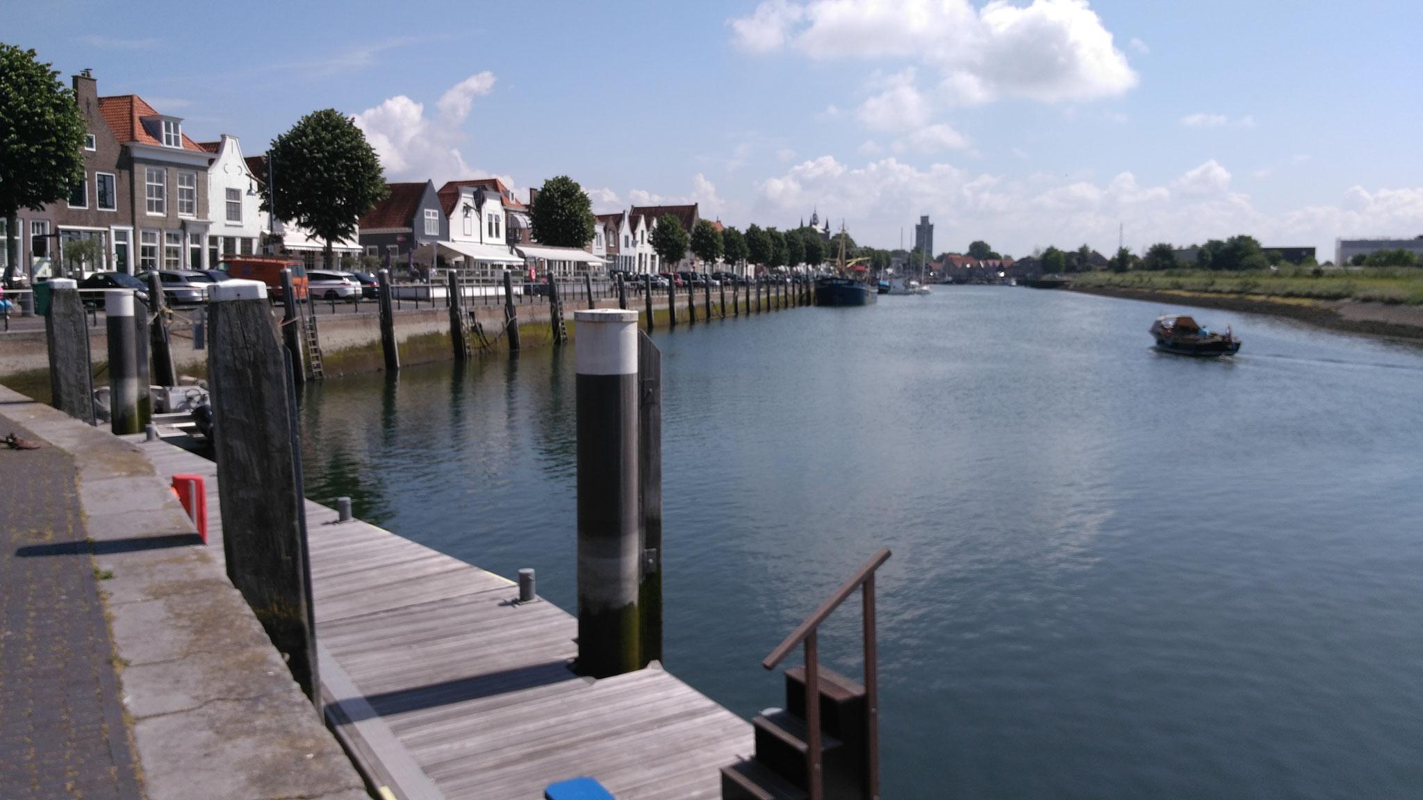 Der Hafen  von Zierikzee