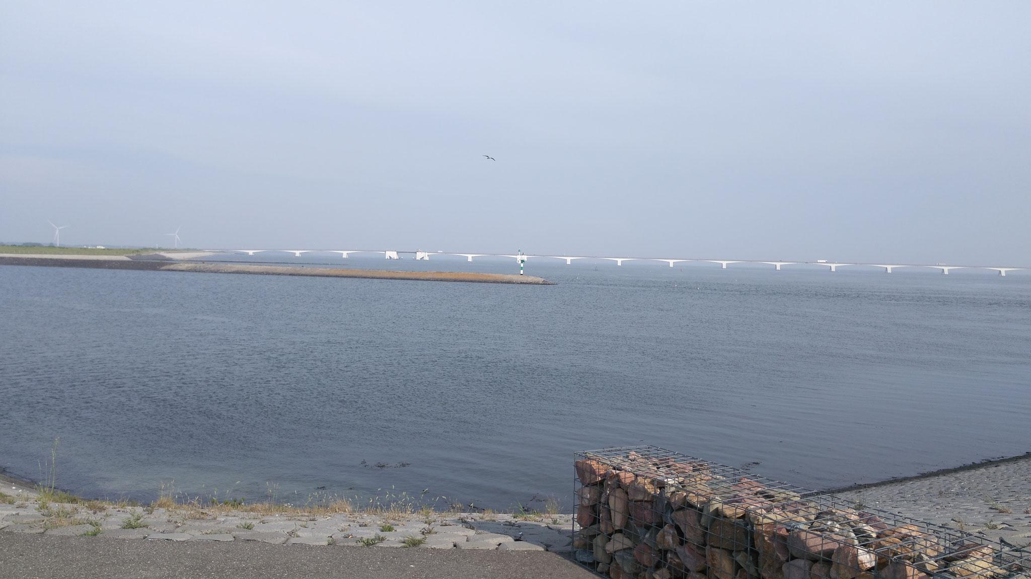 Oosterschelde mit Zeelandbrücke