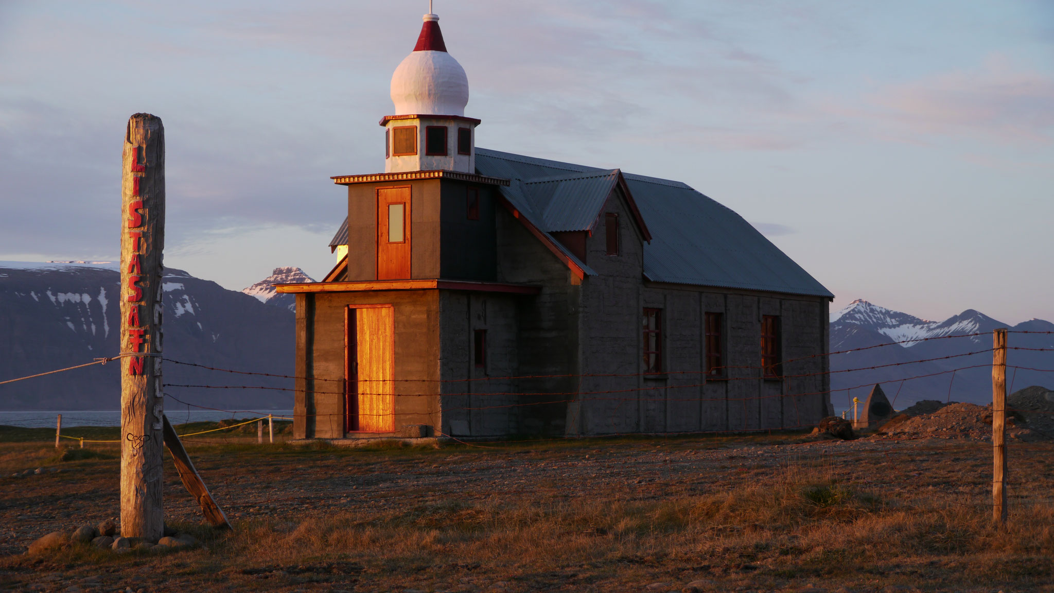Church in the evening light 2011