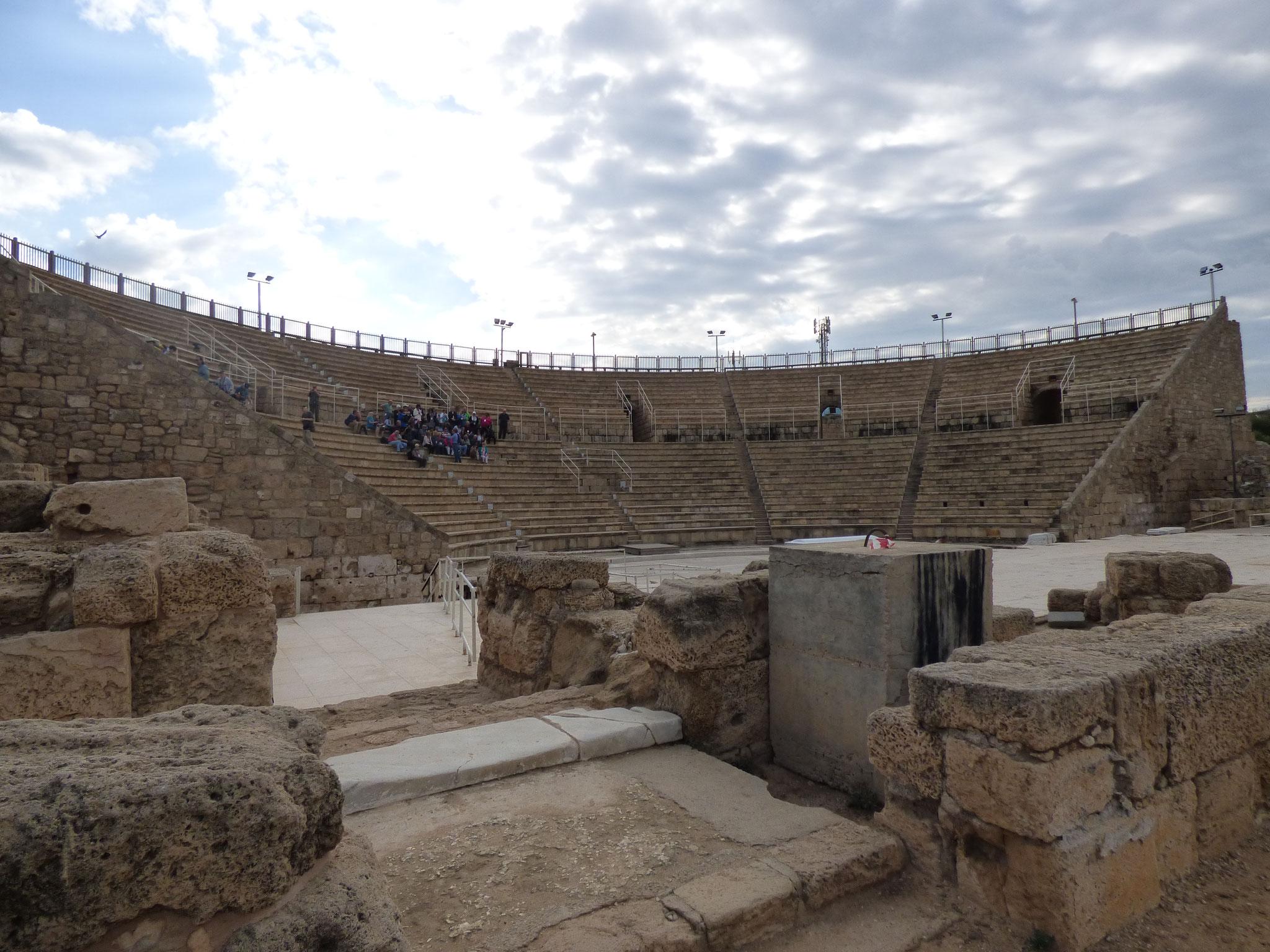 Ceasarea's theater