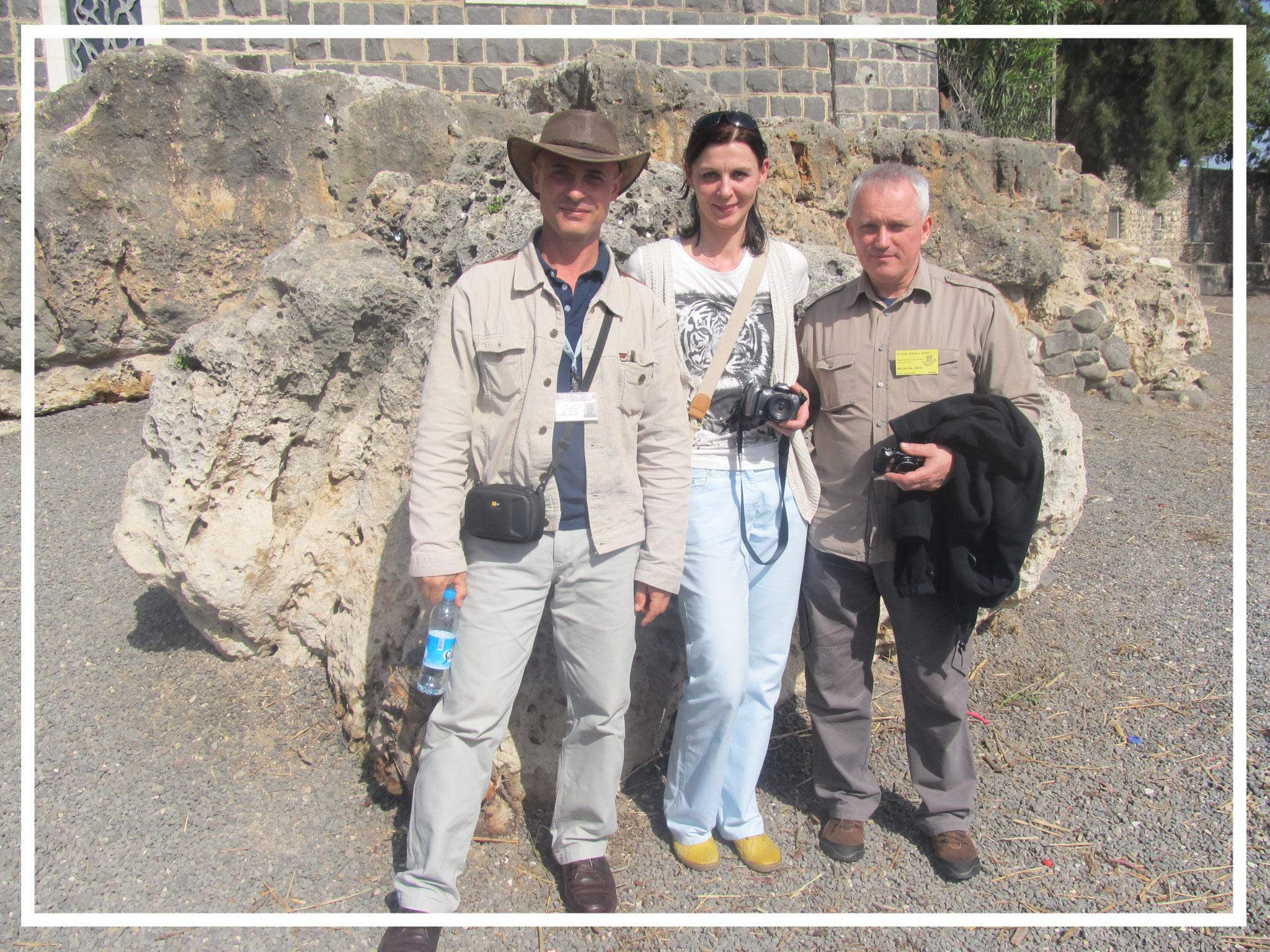 With the Polish tourists, 2011