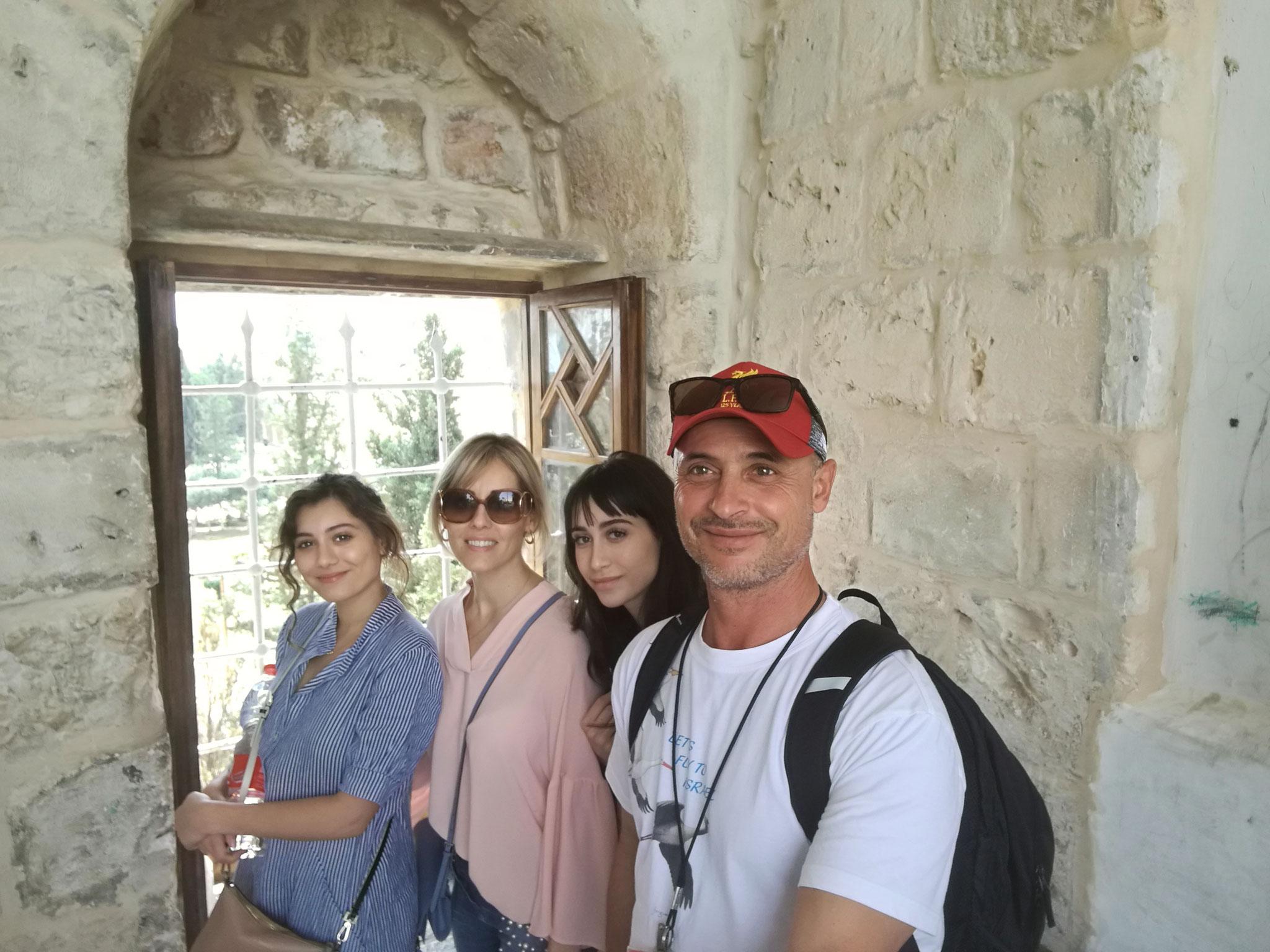 Canadian friends in Jerusalem