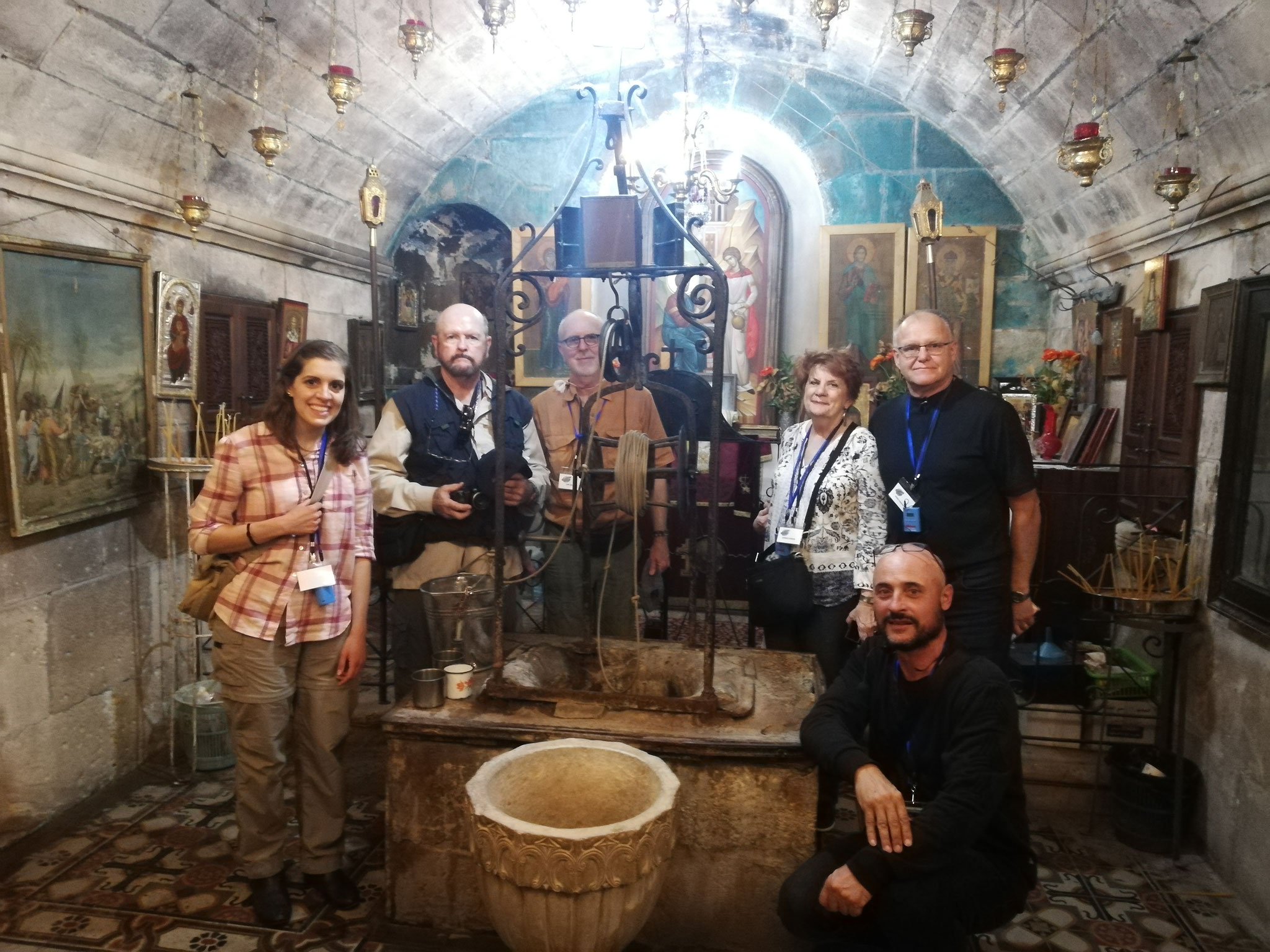 At the well of Jacob in Shechem, 2018