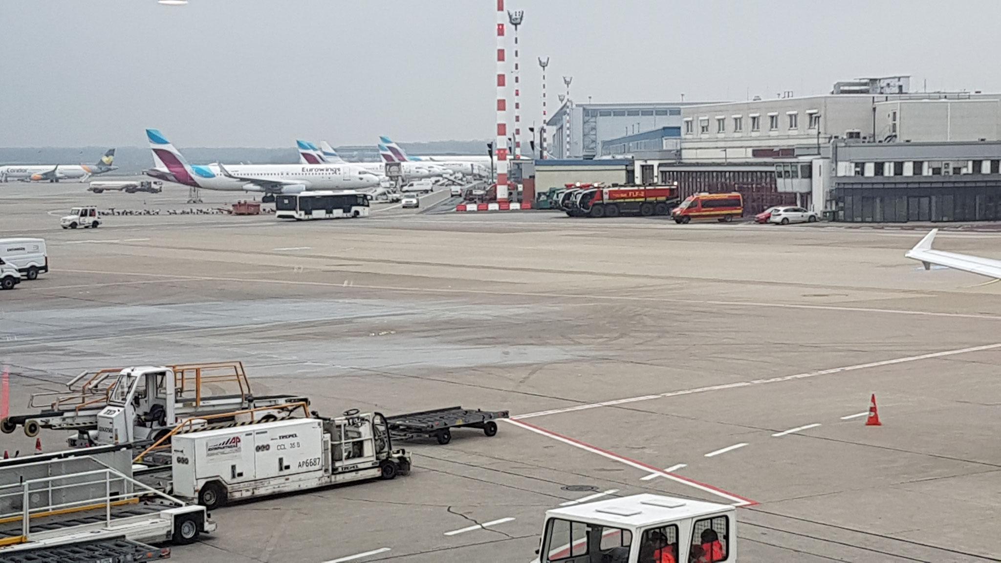 Sprengstoffkontrolle Flughafen