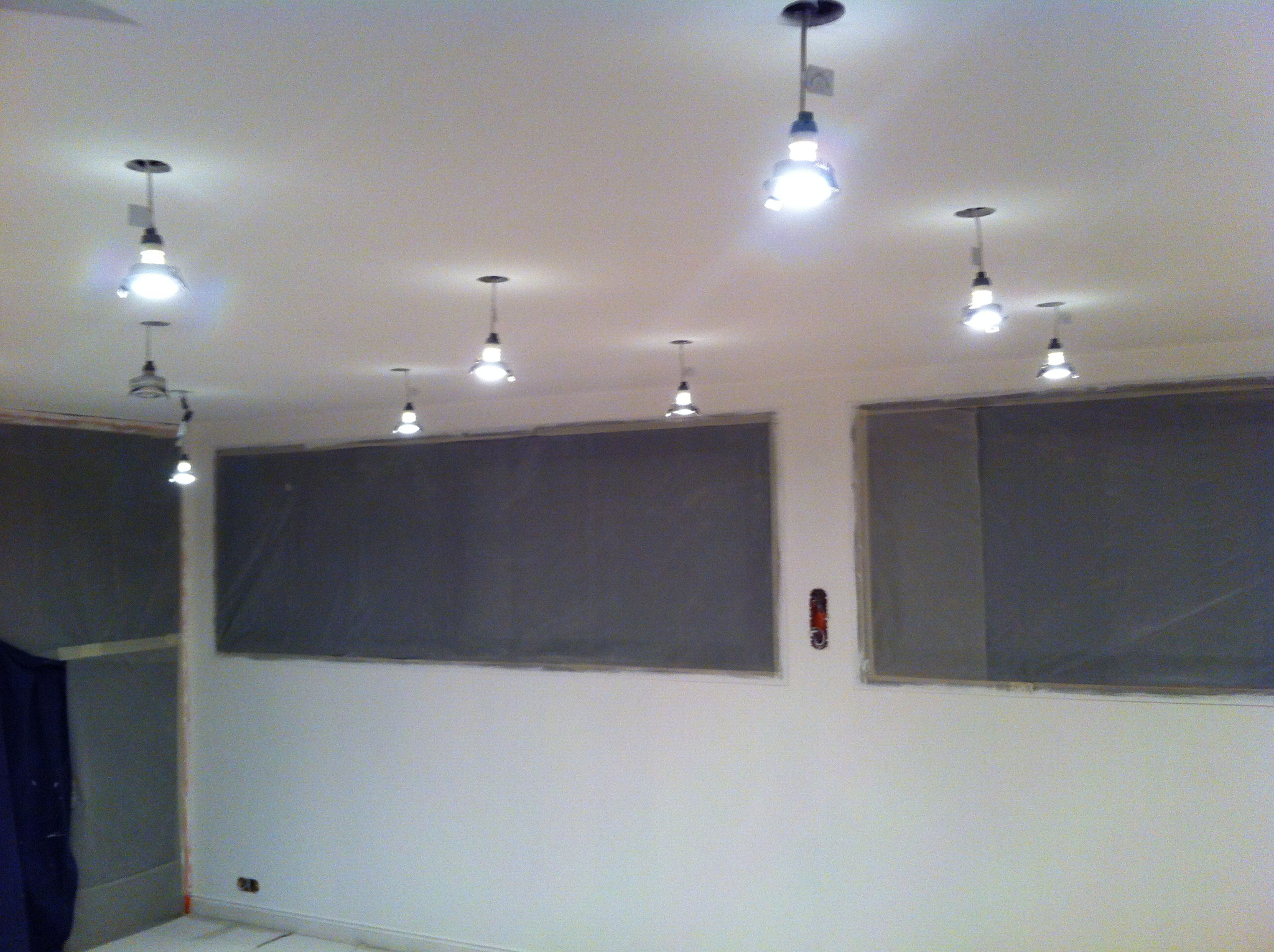 Peinture plafond/murs