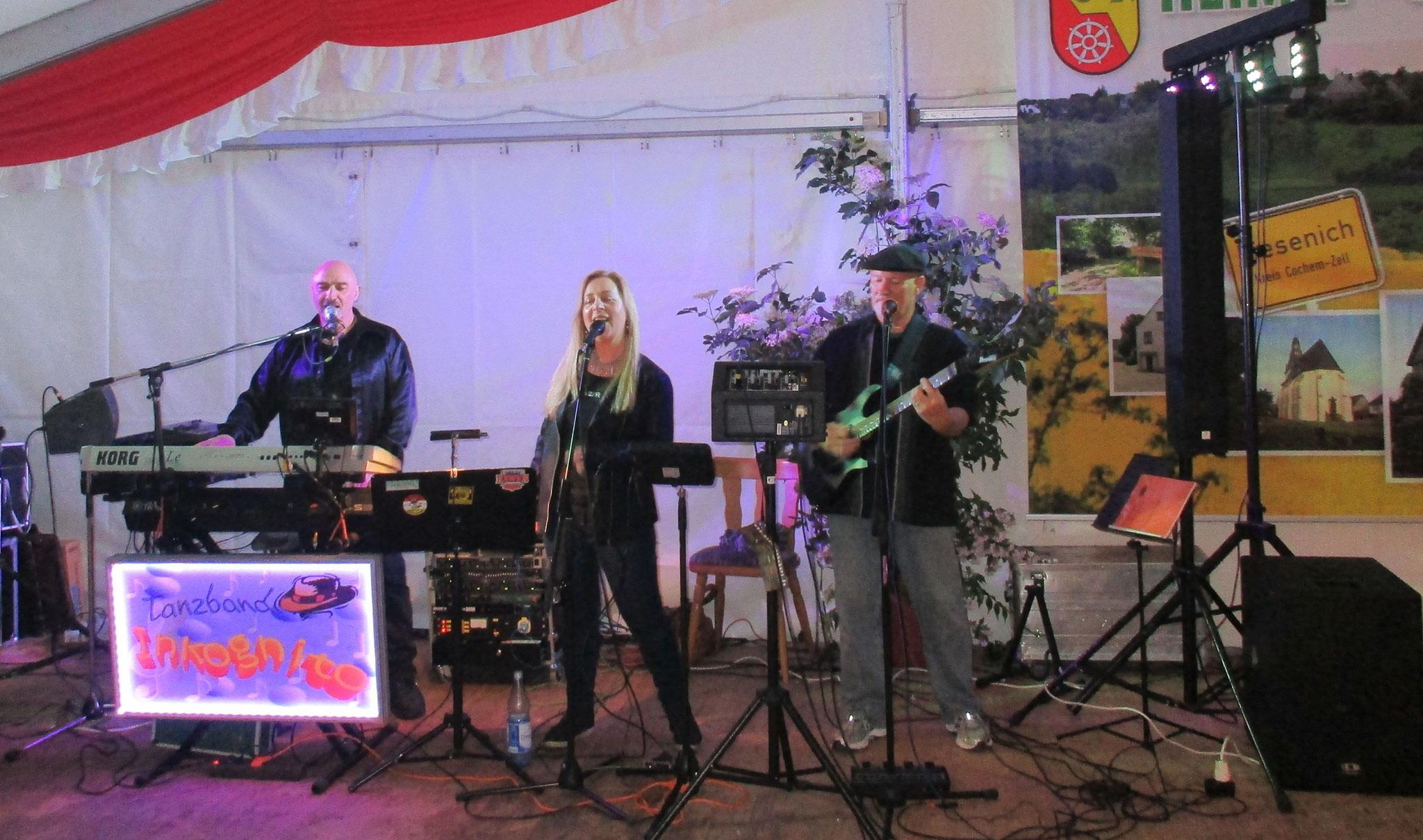 Kirmes in Liesenich 2016 - Gastauftritt von Wilk McKean aus Florida, USA