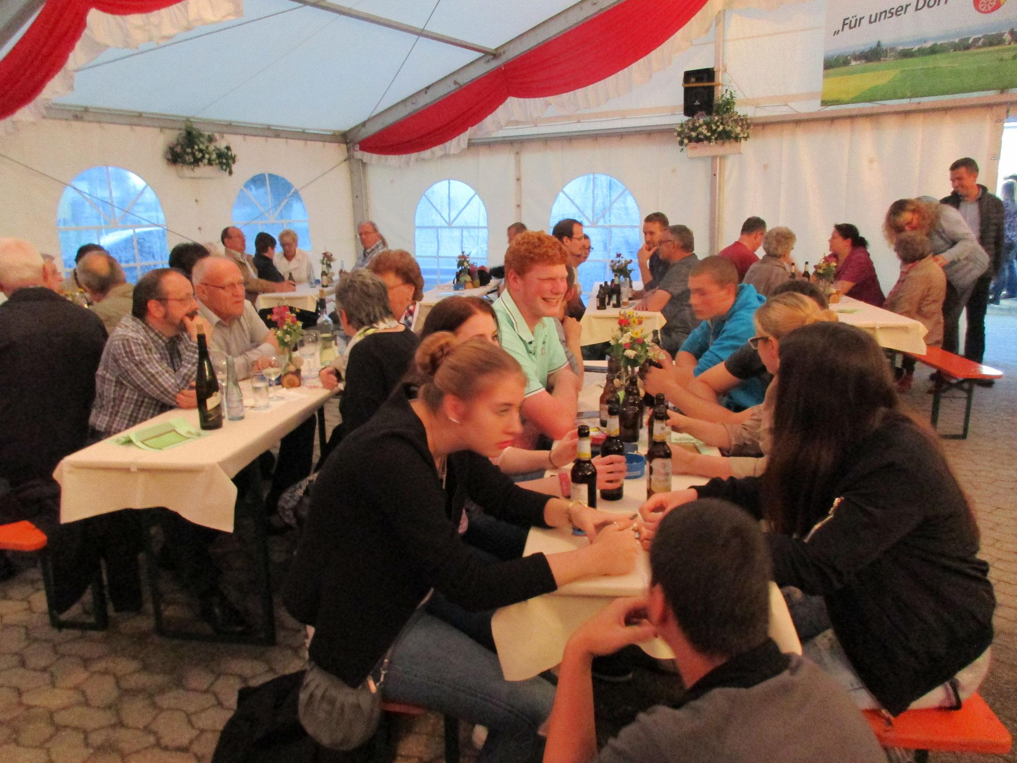 Kirmes in Liesenich 2016