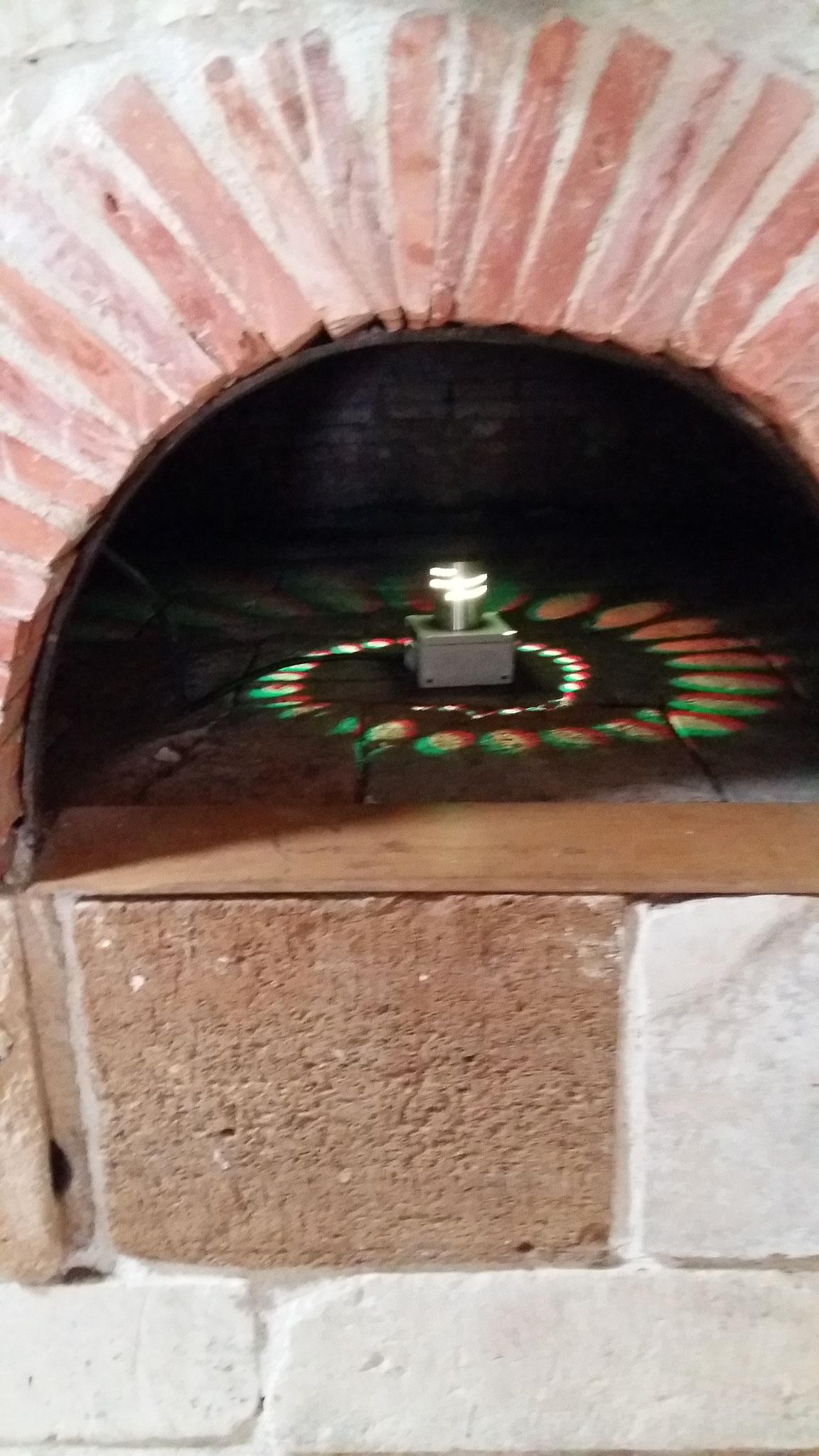 Four à pain illuminé - Gîte de l'étrier - SEUIL D'ARGONNE
