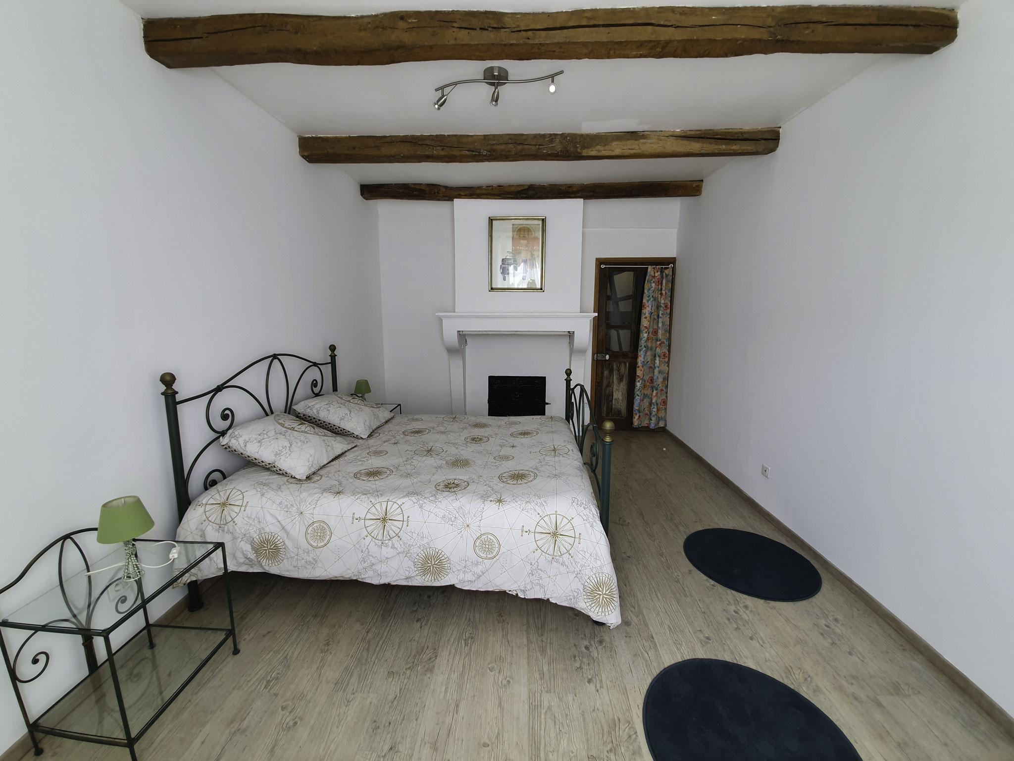 Chambre à coucher - location de vacances en LORRAINE