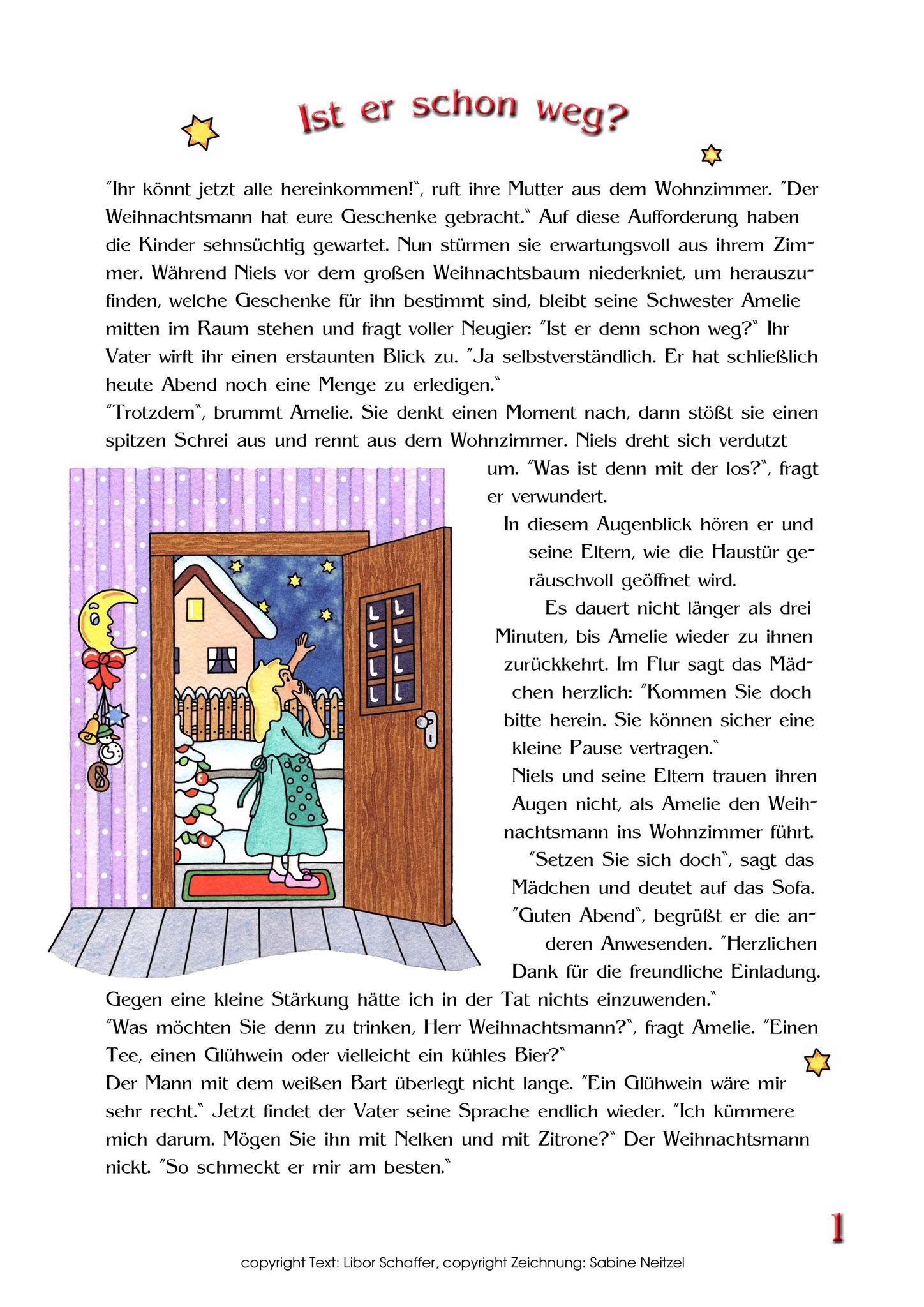 Weihnachtsgeschichte für Kinder