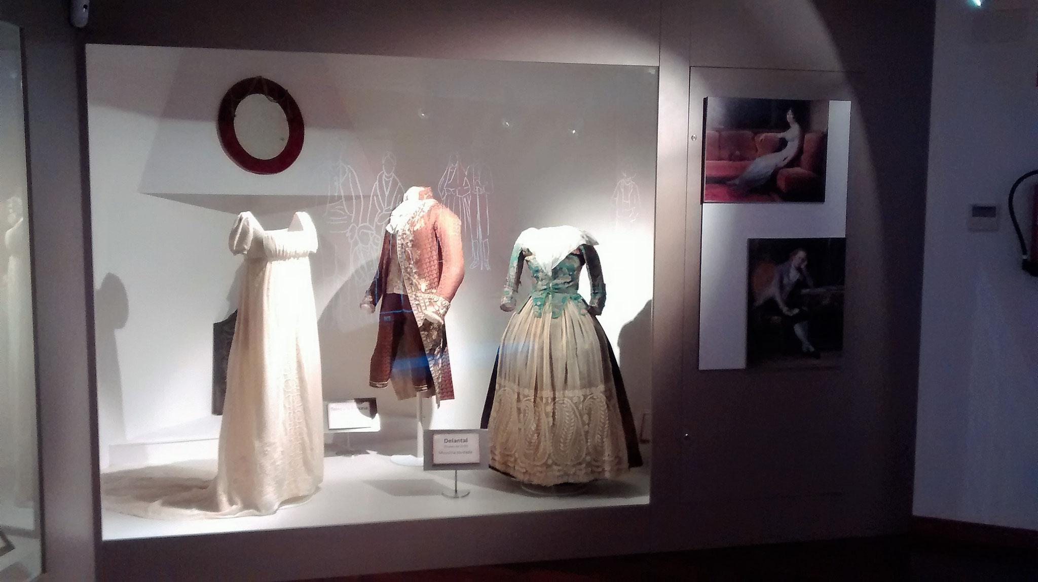 """Detalle exposición 2016: """"Un paseo por la gran moda"""""""