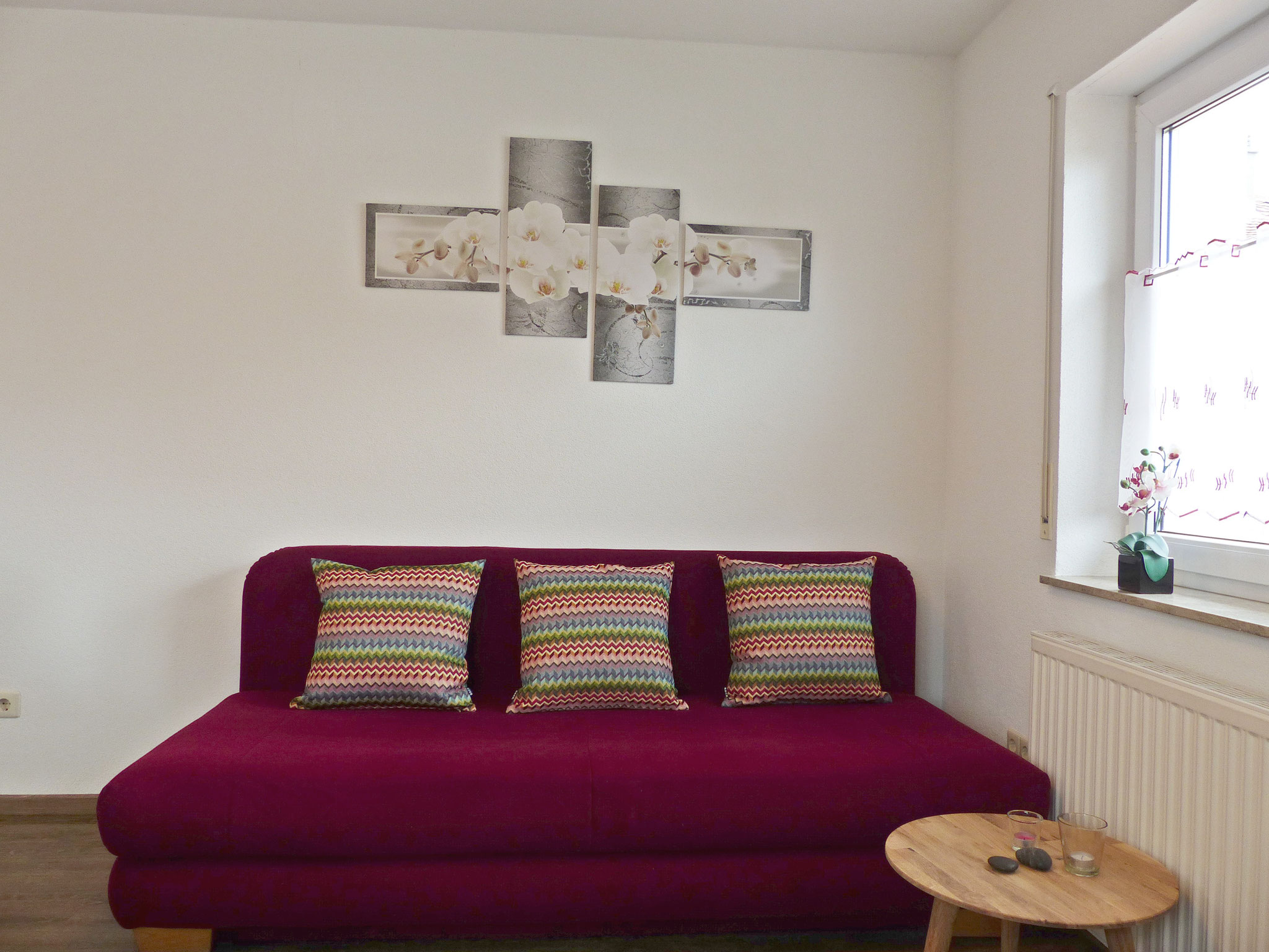 Wohnbereich - Schlafsofa (ausziehbar)