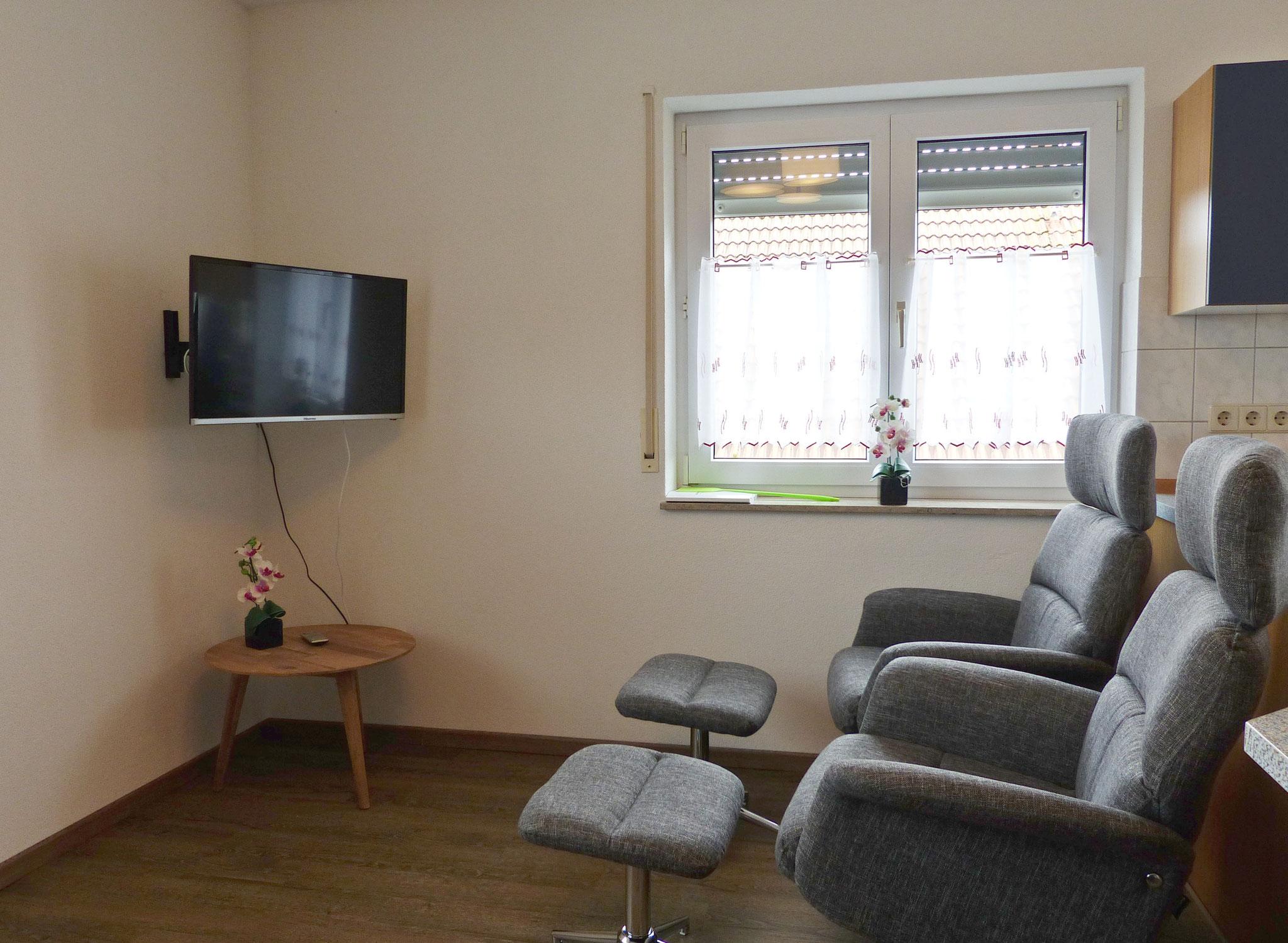 Wohnbereich - zwei bequeme Relaxsessel