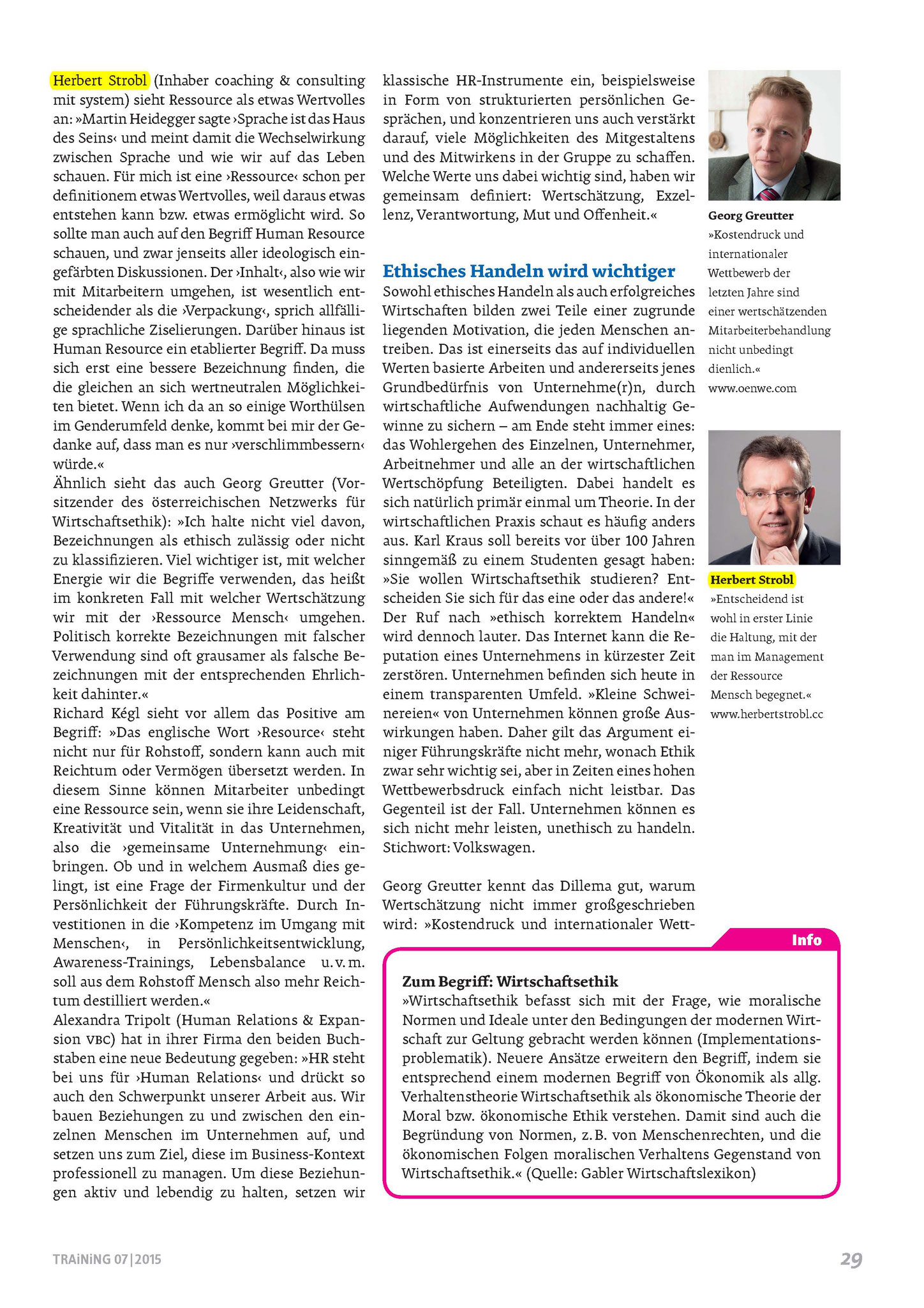 Ethik und HR - Ein Widerspruch? Seite 1