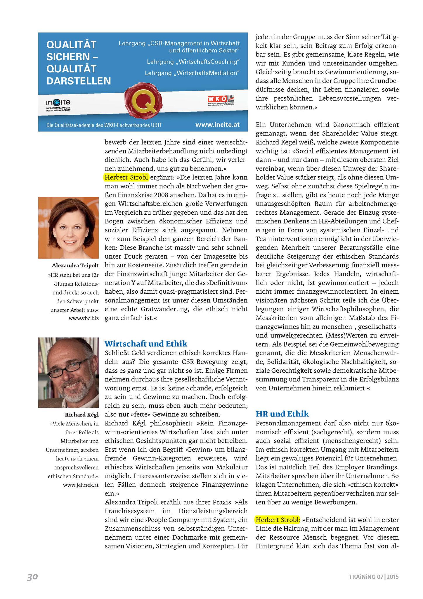 Ethik und HR - Ein Widerspruch? Seite 2