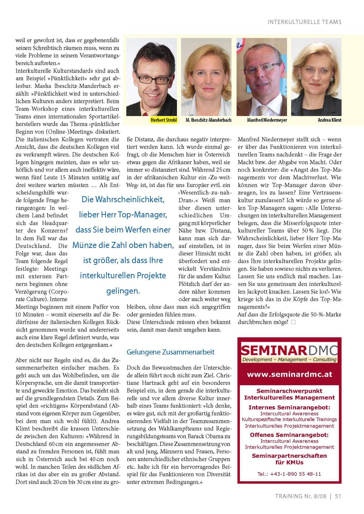 Interkulturelle Teamarbeit_TRAiNiNG Dez. 2008_Seite_4