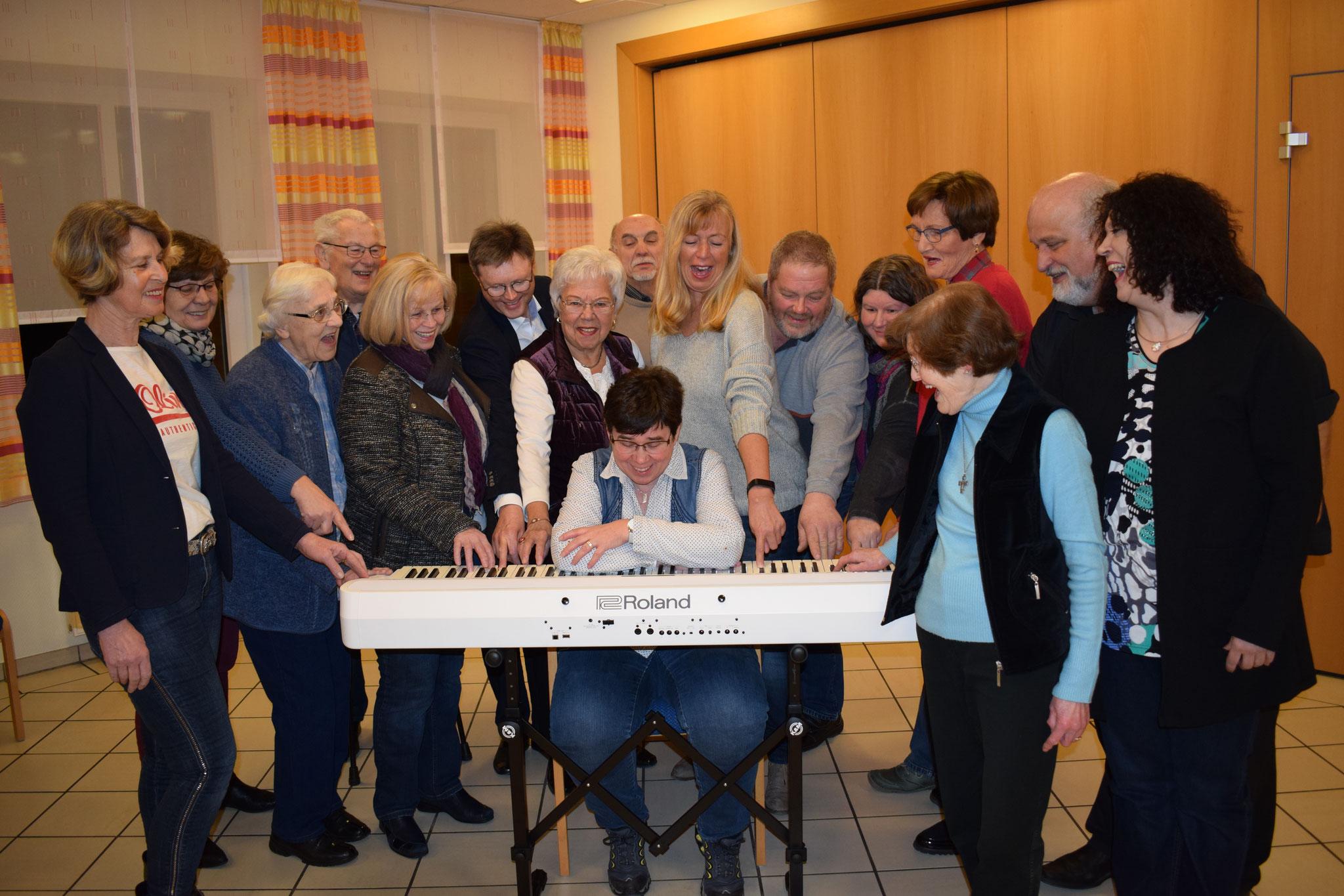 E-Piano für die Chorgemeinschaft