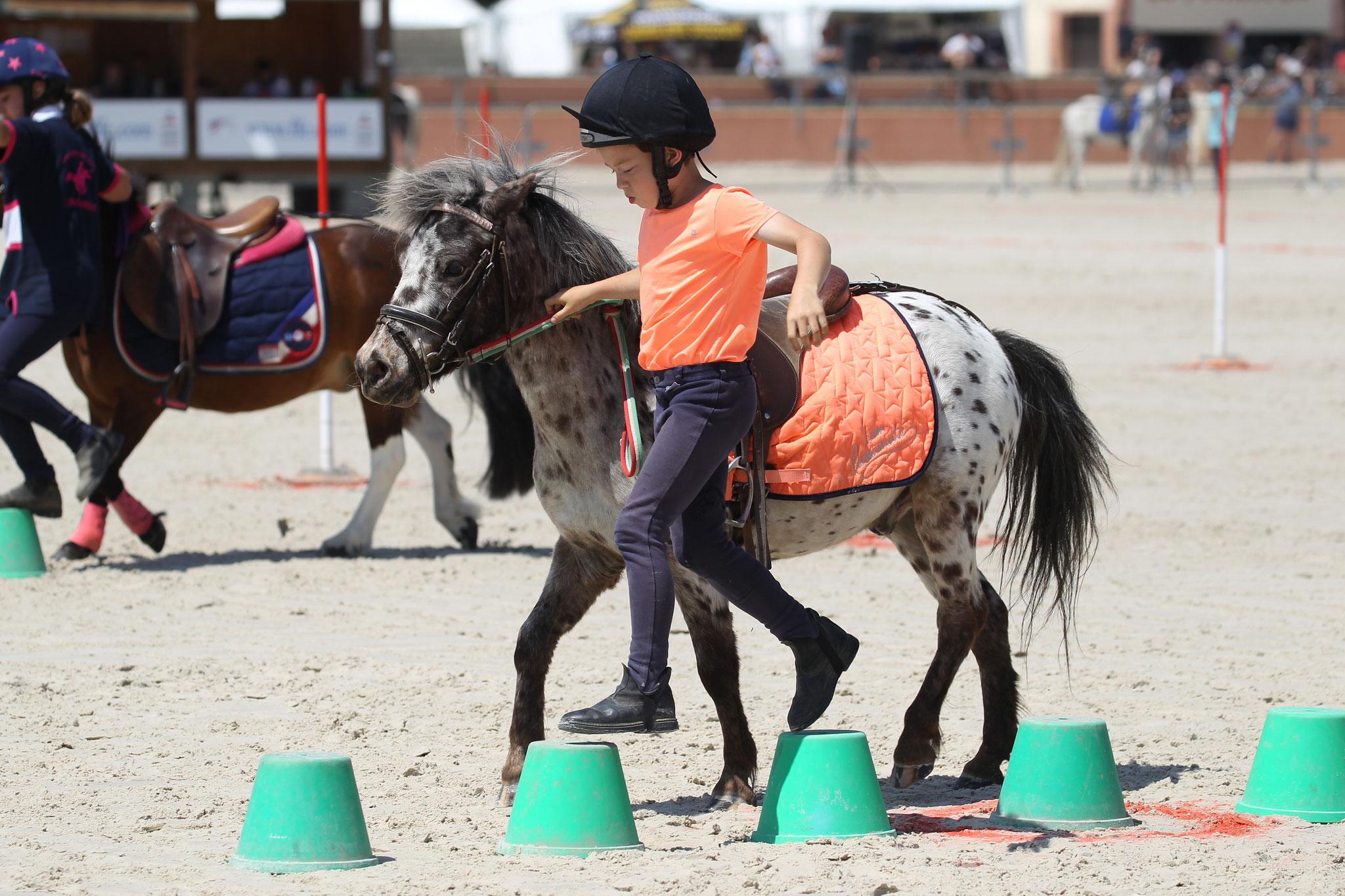 Les jeux à poneys, une pédagogie ludique