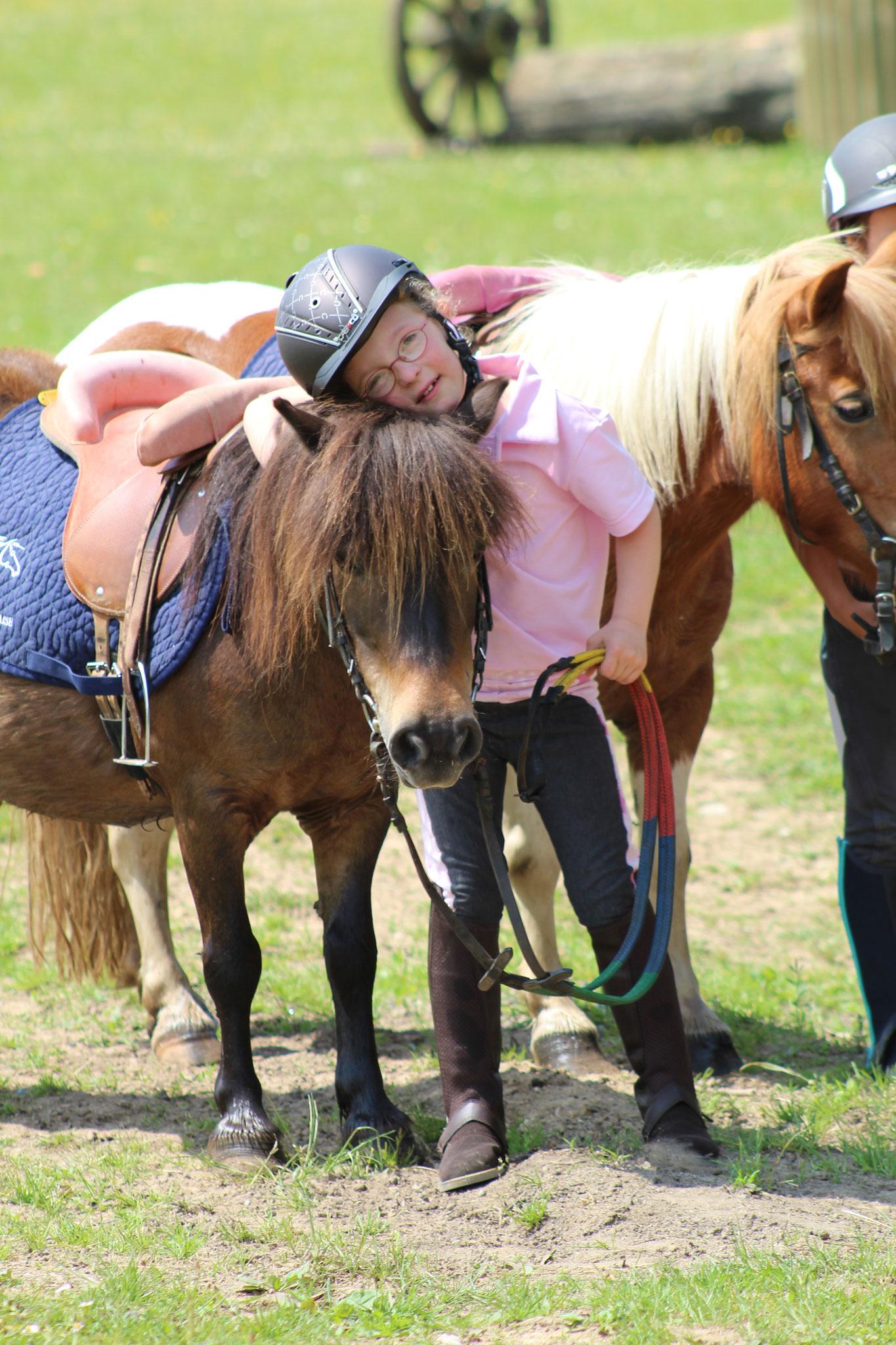 Les joies de l'équitation