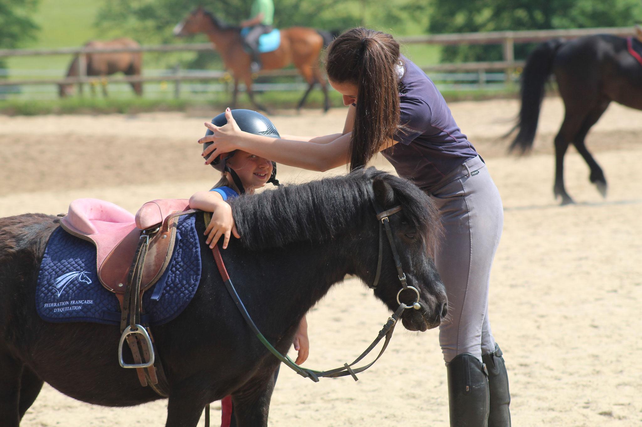 Des enseignants qualifiés vous feront découvrir les joies de l'équitation
