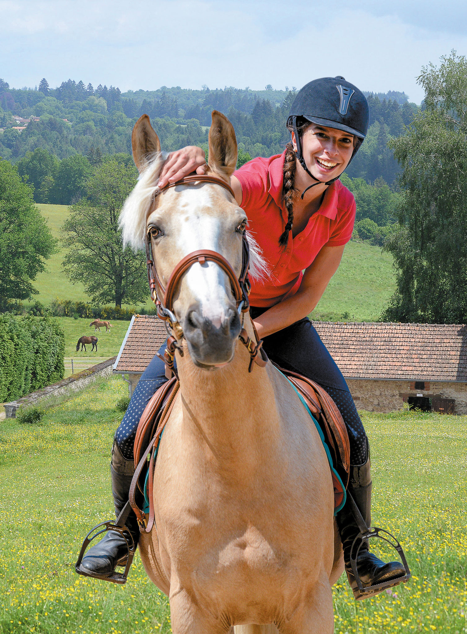 L'équitation, un sport nature