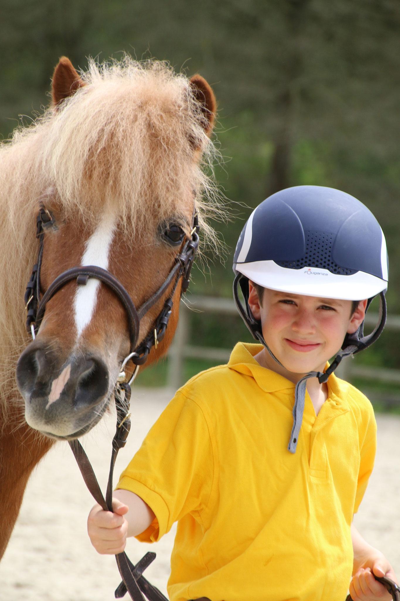 Les stages d'été pour les jeunes cavaliers