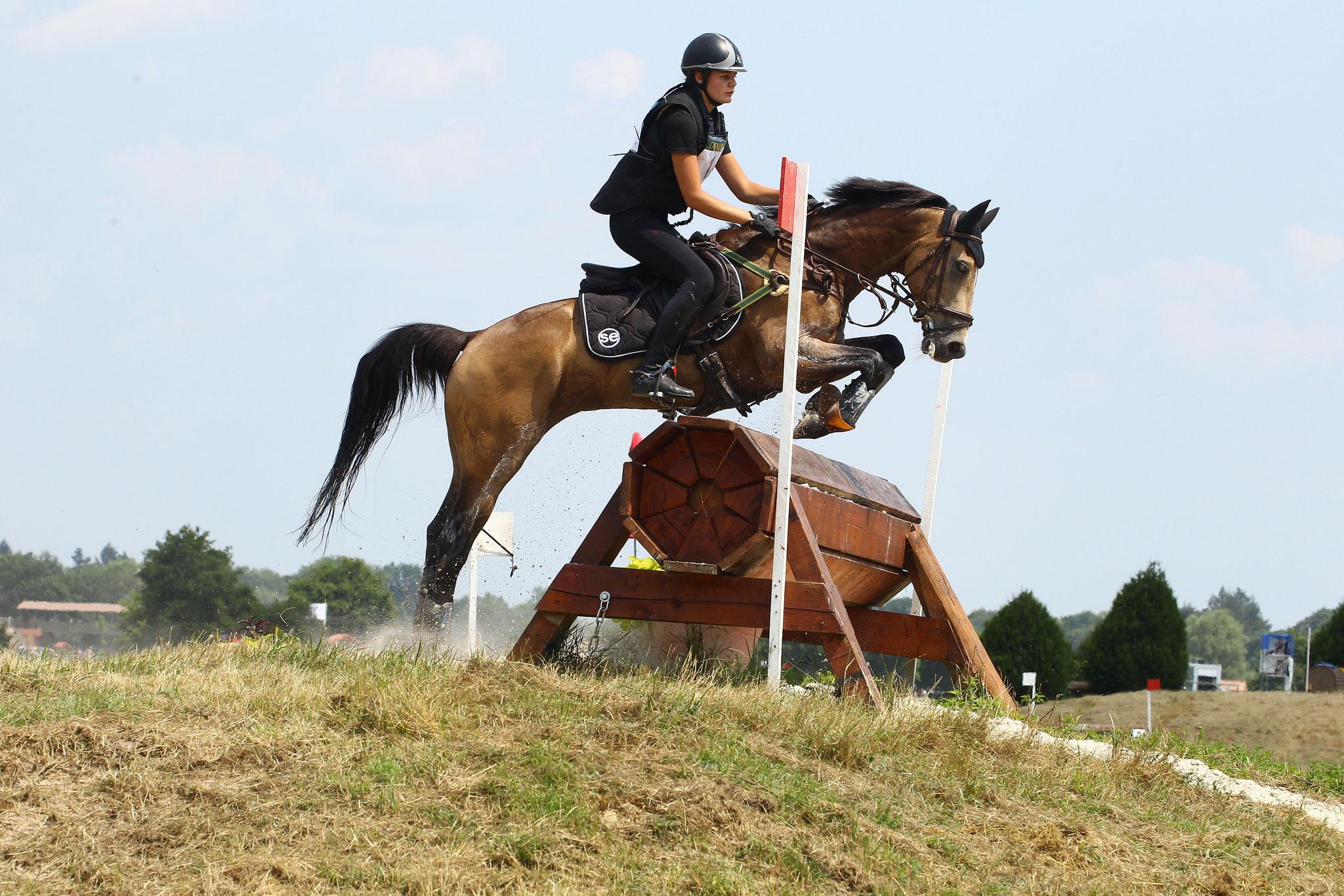 Le concours complet d'équitation