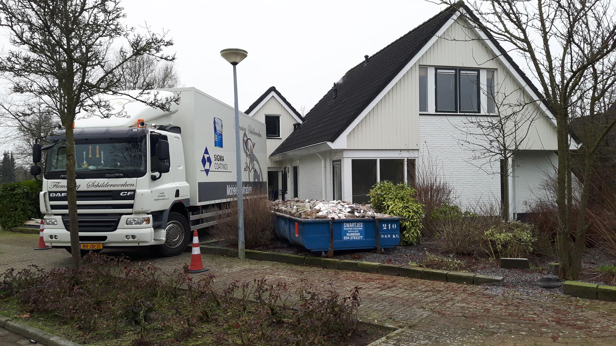 Keuken, deuren en radiatoren spuiten Ewijk (Gelderland)