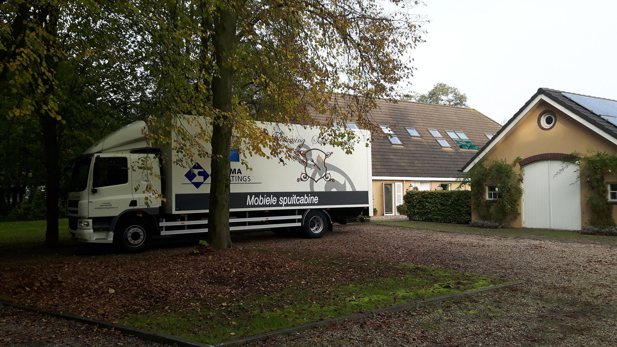 Raamluiken spuiten Leusden (Utrecht)