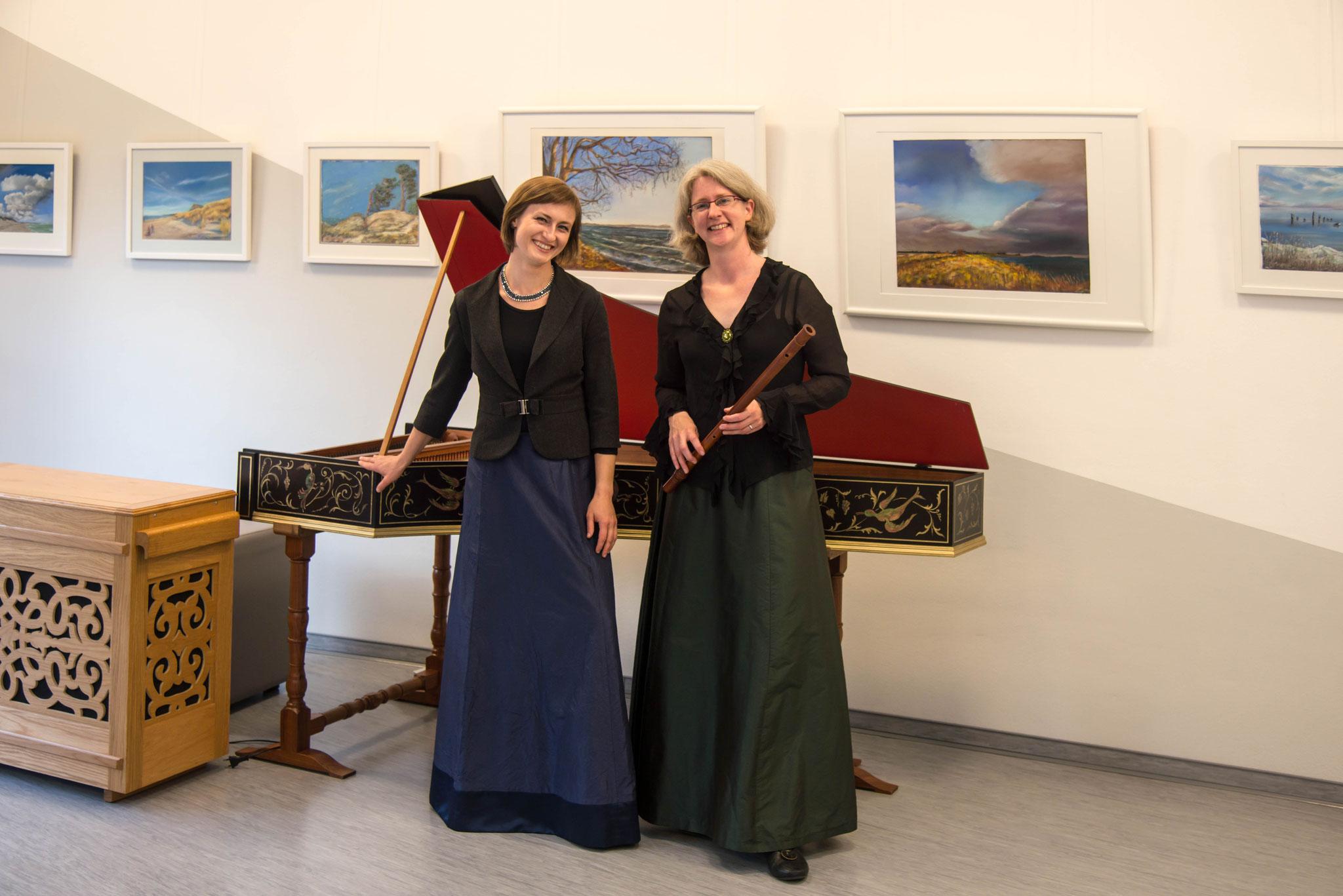 5. Juli 2017, Der Abendsalon zu Gast im Ernst-Moritz-Arndt Museum Garz / Rügen - Ein musikalisches Reformationsgedenken - Paulina Kilarska und Wibke Oppermann