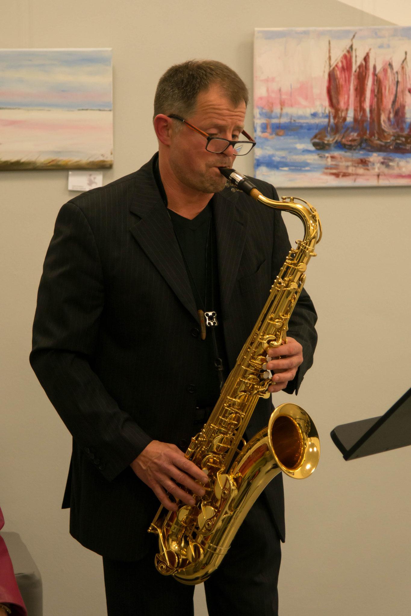 11. September 3. Rügener Klangwoche Saxophon Soiree mit Wolfgang Zimmerling, Rügen, Ernst-Moritz-Arnd-Museum Garz / Rügen