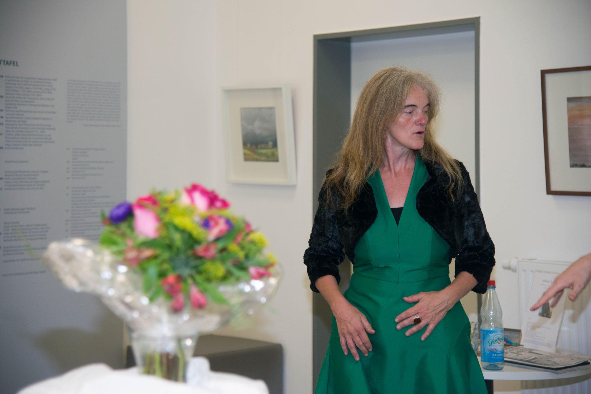 "15. August 2017  ""La vie est belle"" Ines Kristina Maria Hinz im Ernst-Moritz-Arndt Museum in Garz / Rügen"