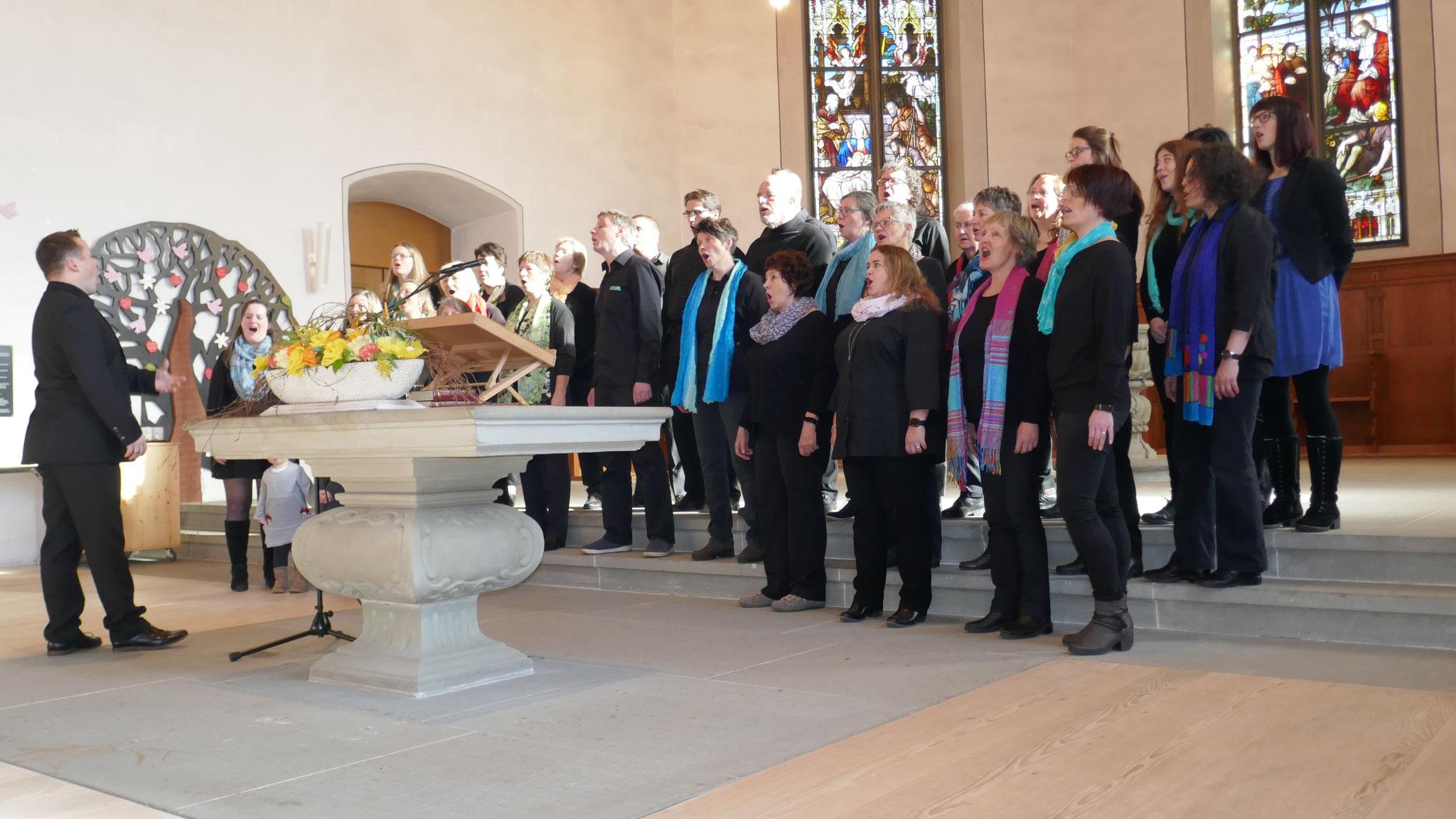 Auftritt am Regio-Gottesdienst vom 17. Februar 2019, Ref. Kirche Langnau i.E.