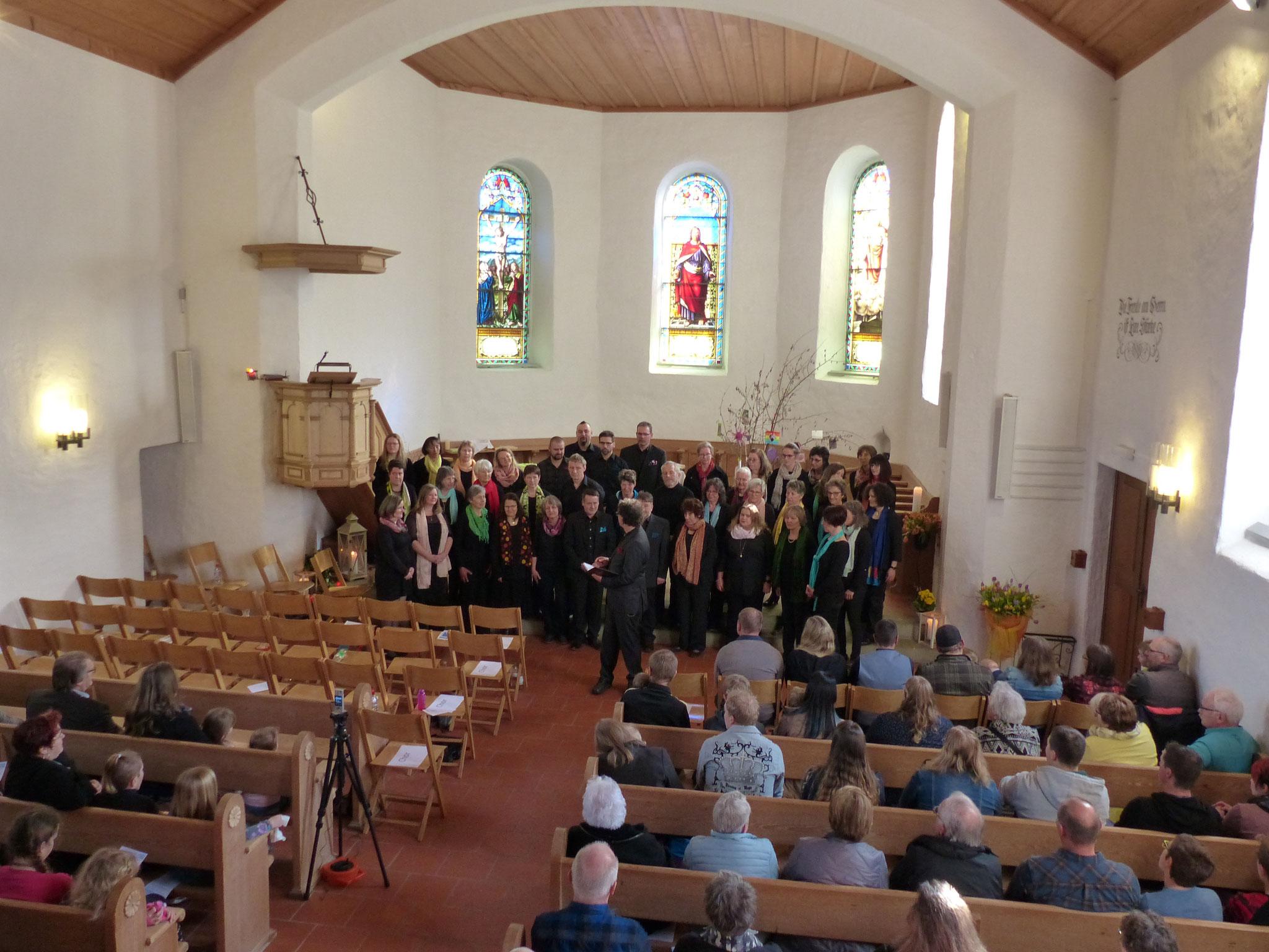 Der Sing-Gottesdienst vom 17. März 2019.