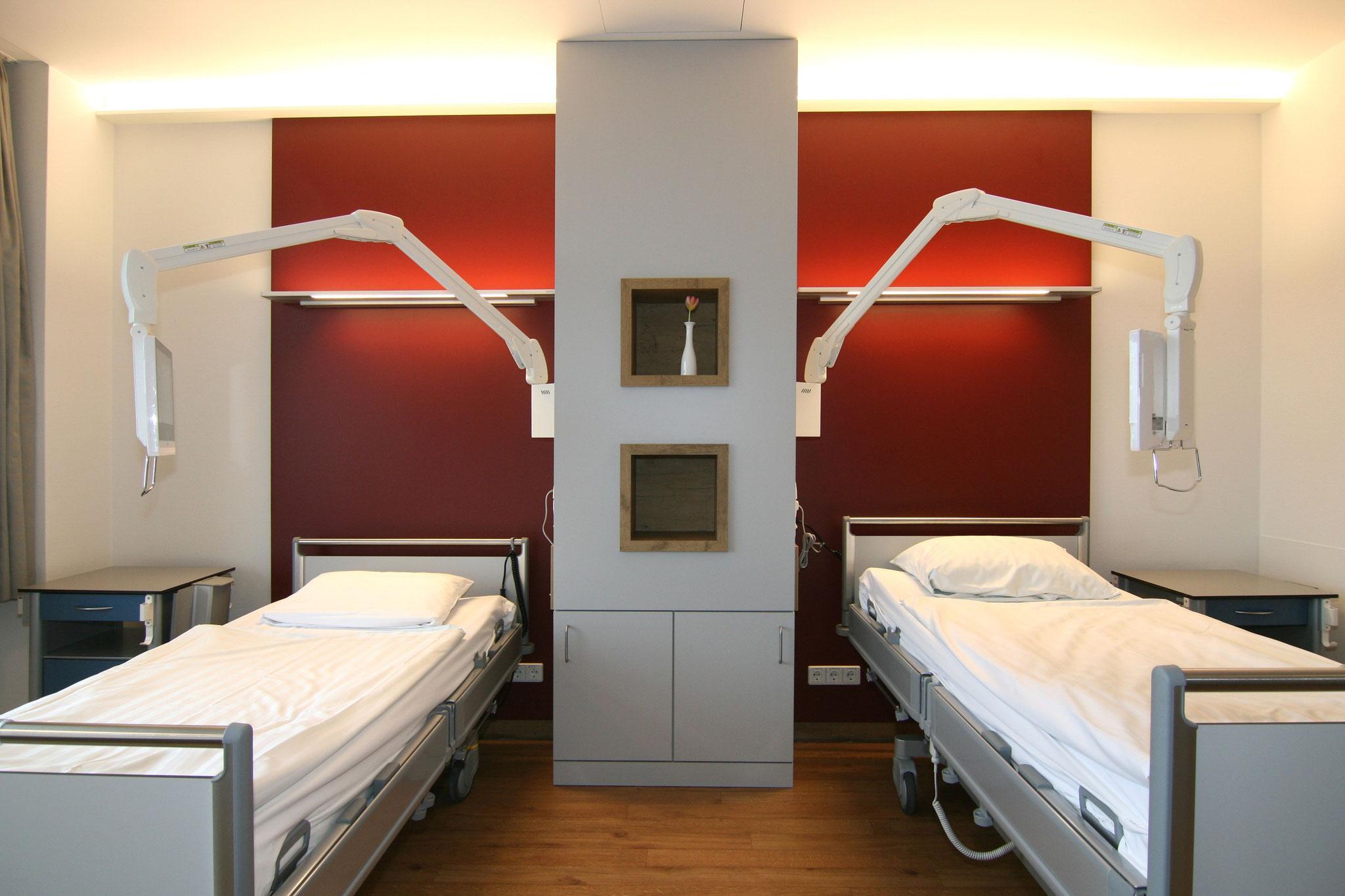 Klinikum Reutlingen - Umbau Wahlleistungszimmer