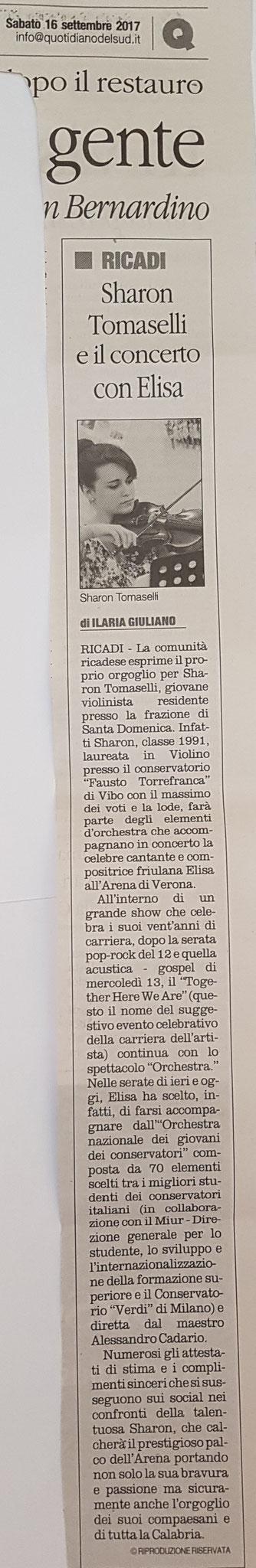 Il Quotidiano del Sud 16/09/2017