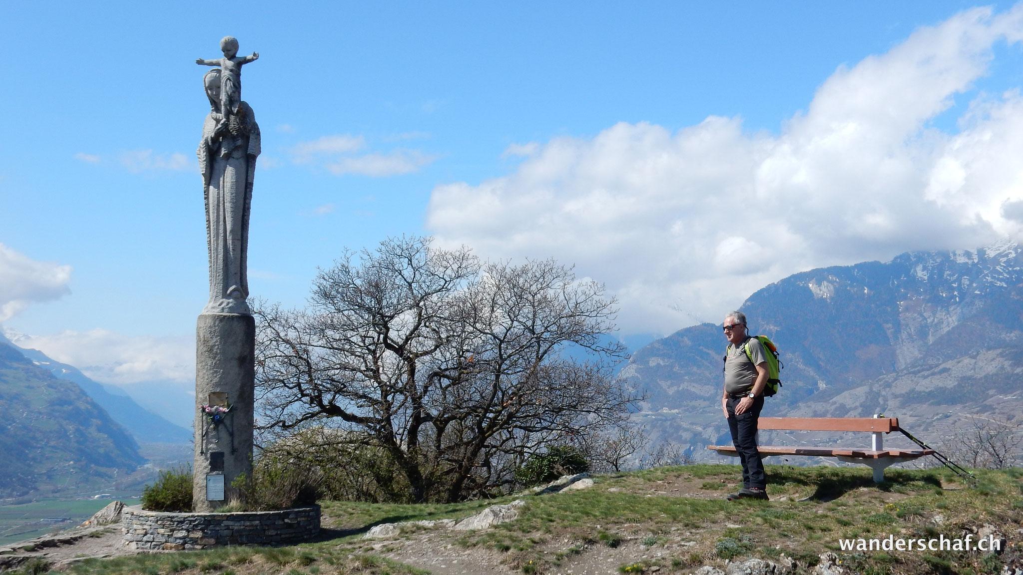 tolle Aussicht vom Mont d'Orge