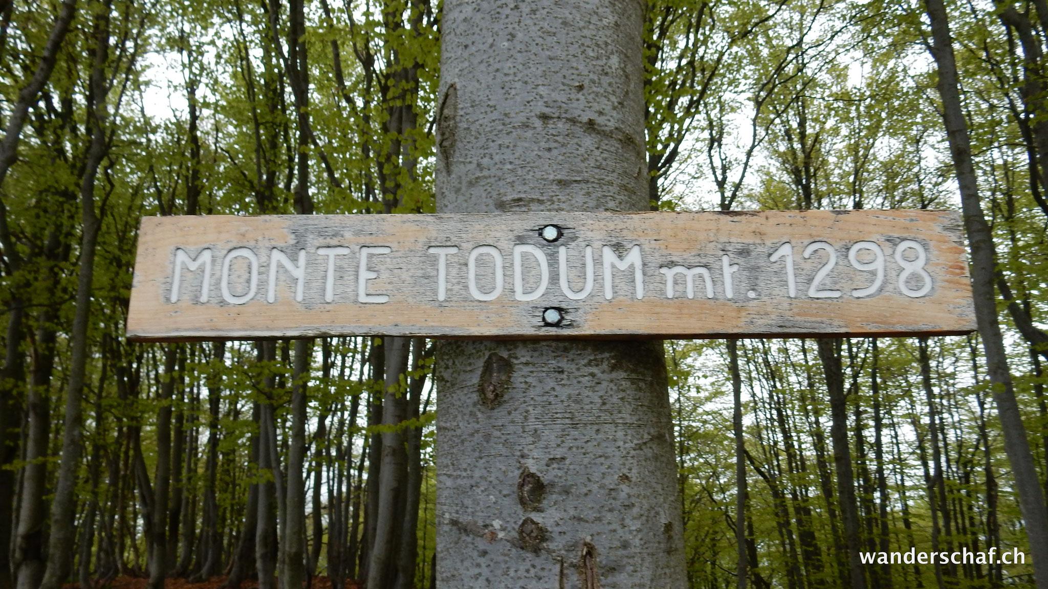 auf dem Monte Todum