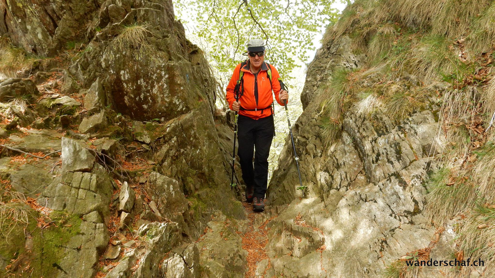 Unterwegs zur Alpe Leciurt
