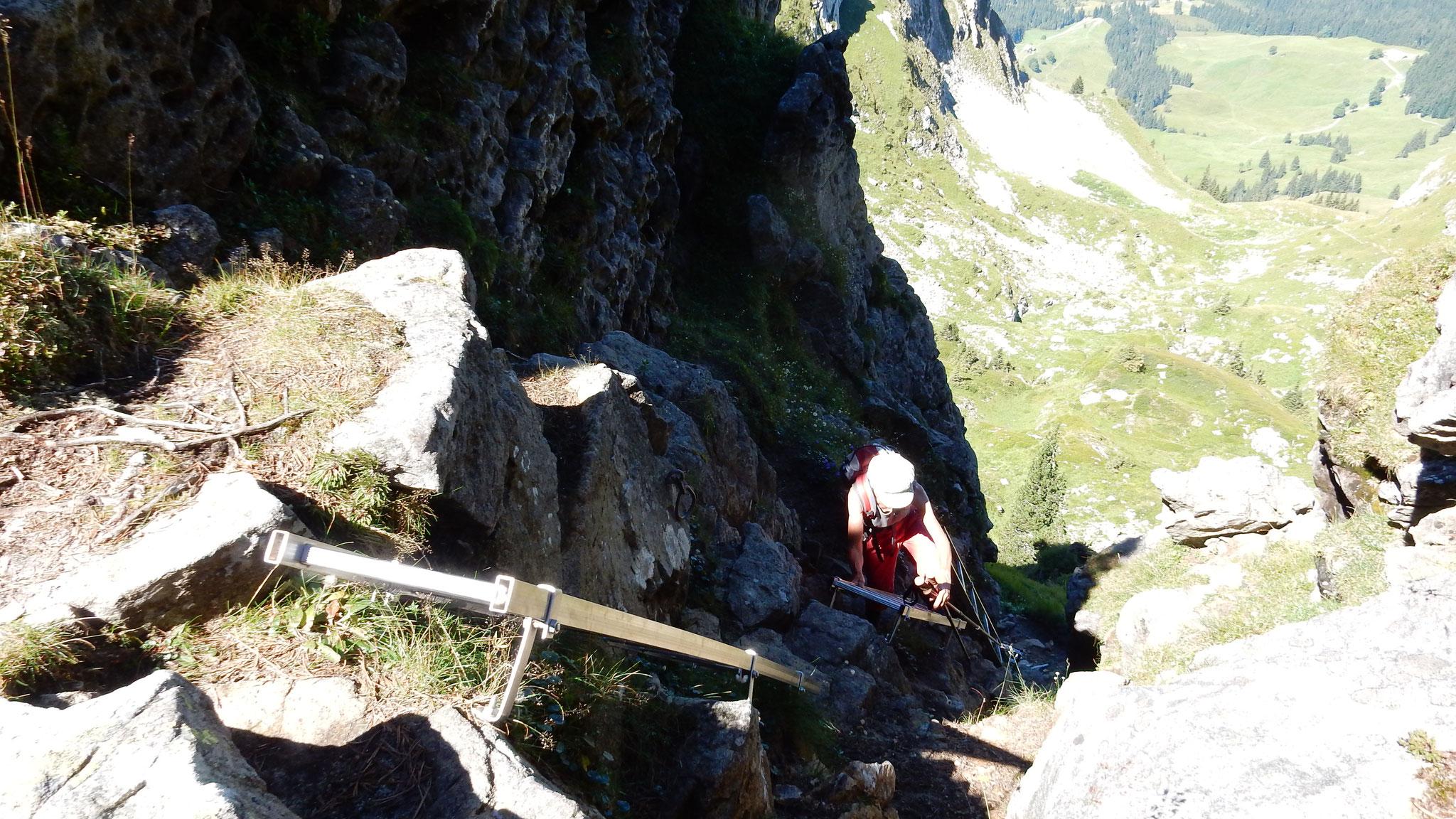 Weiterweg Richtung Hohgant West Gipfel