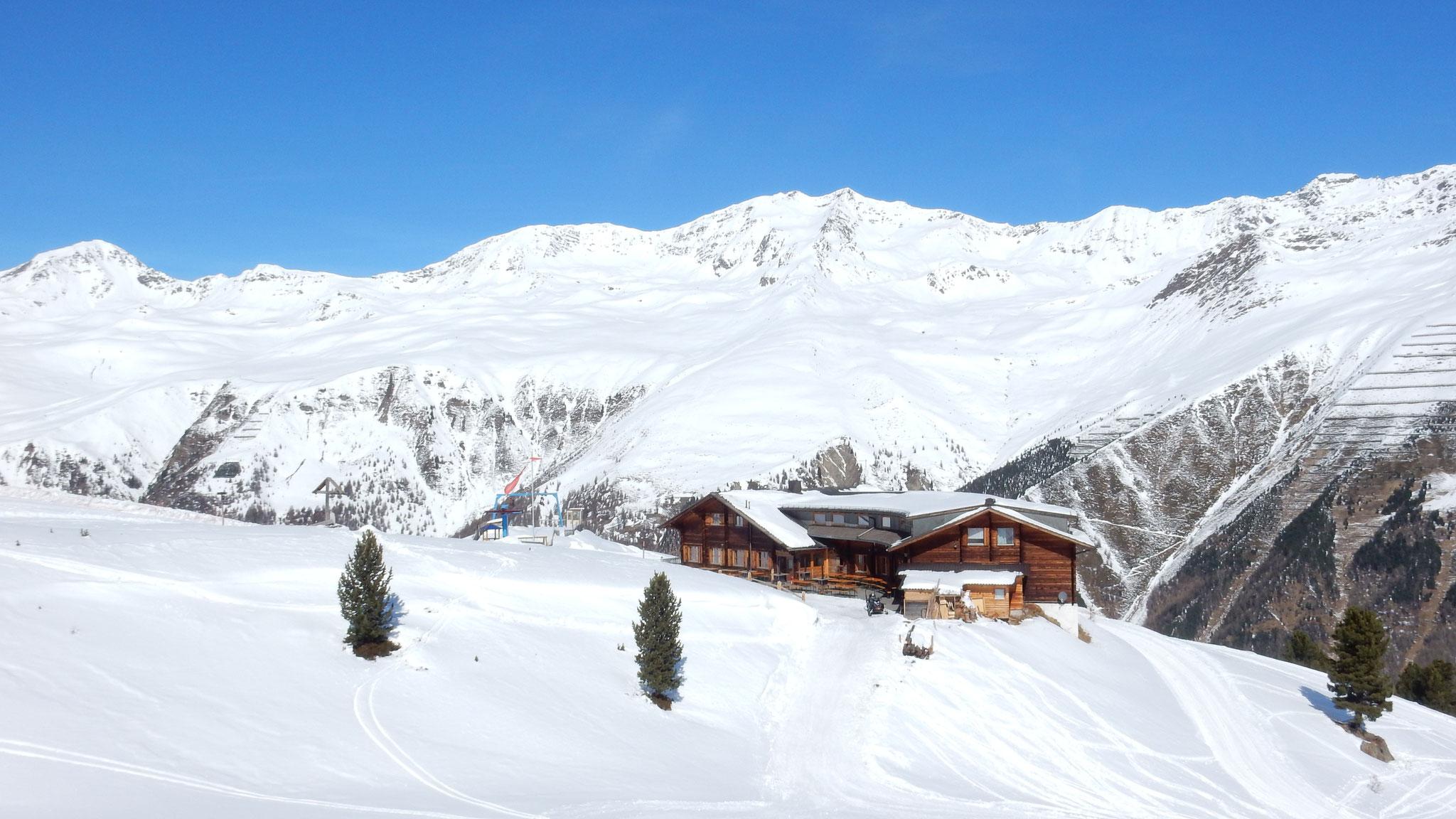 das schöne Berggasthaus Maseben