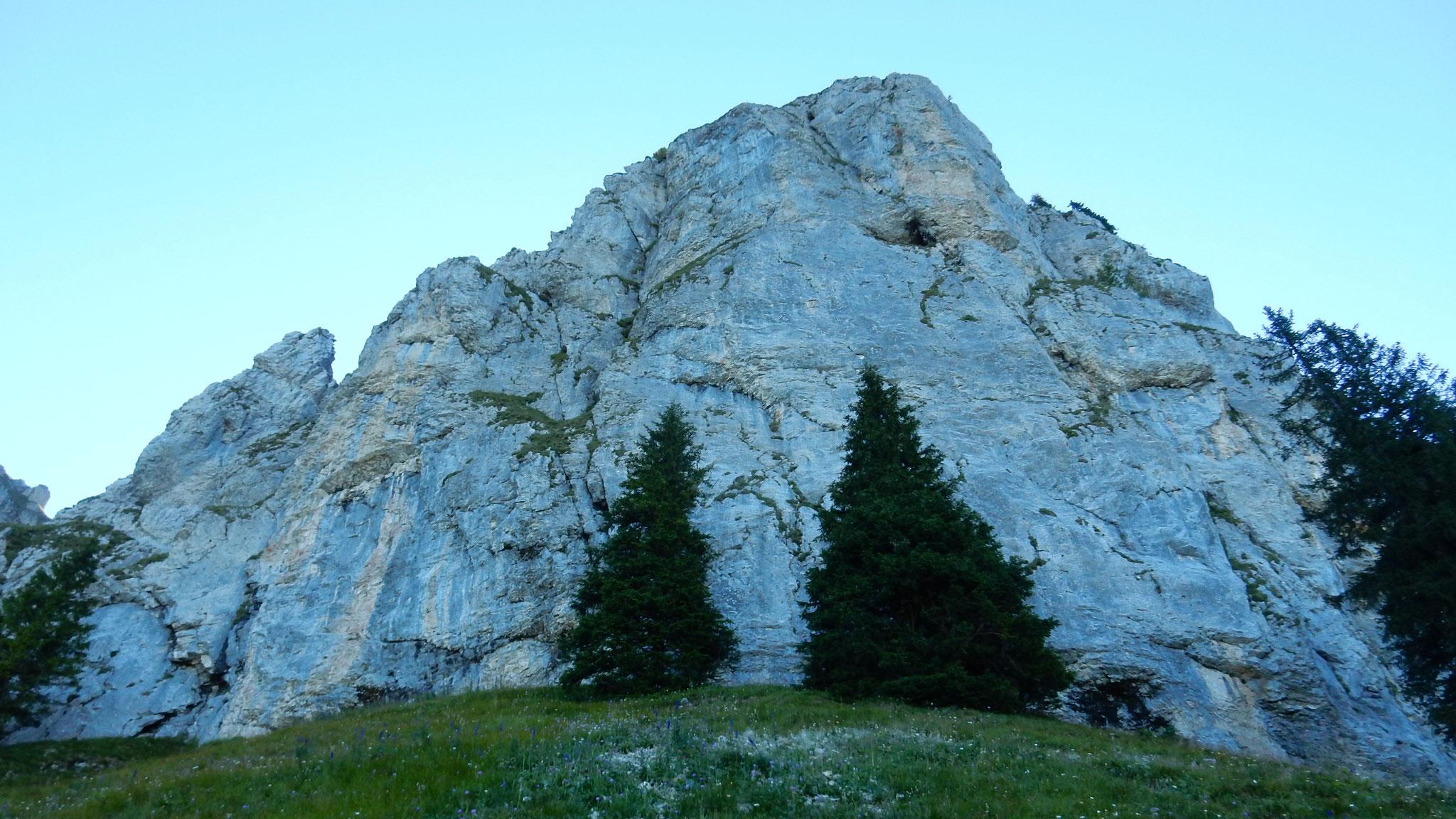 im Aufstieg durch via Arnigrat
