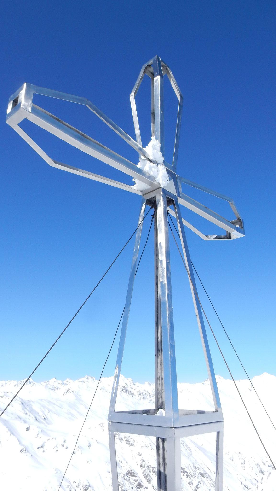 schönes Gipfelkreuz