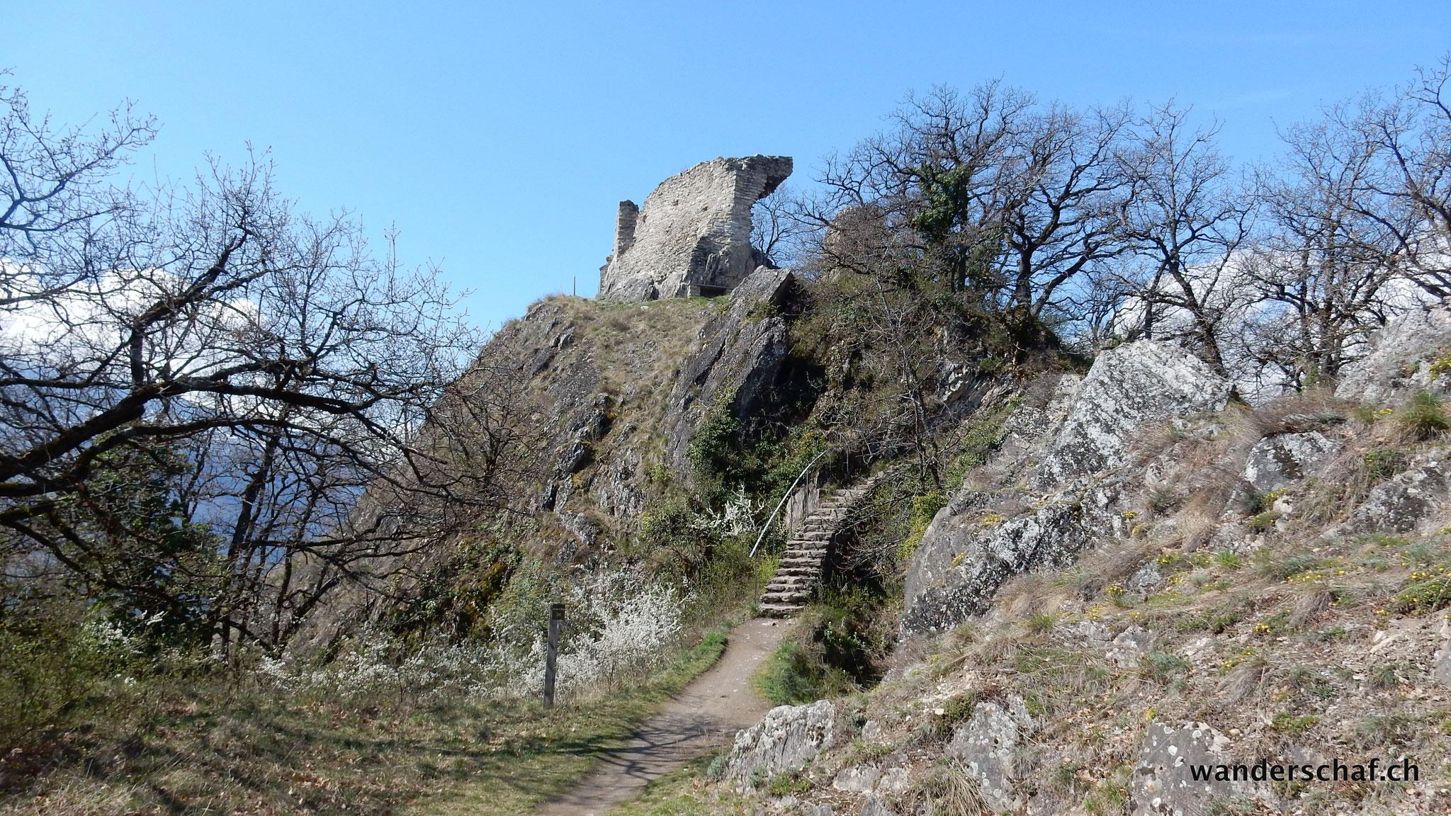 Aufstieg zum Mont d'Orge