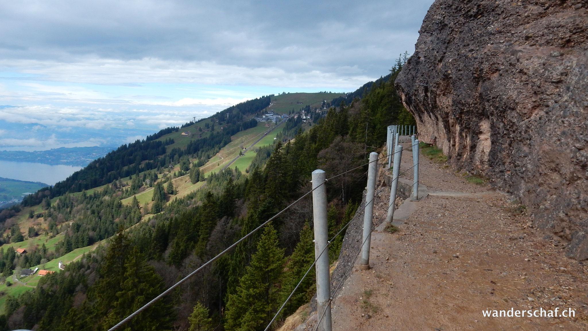 Blick zurück Richtung Kaltbad
