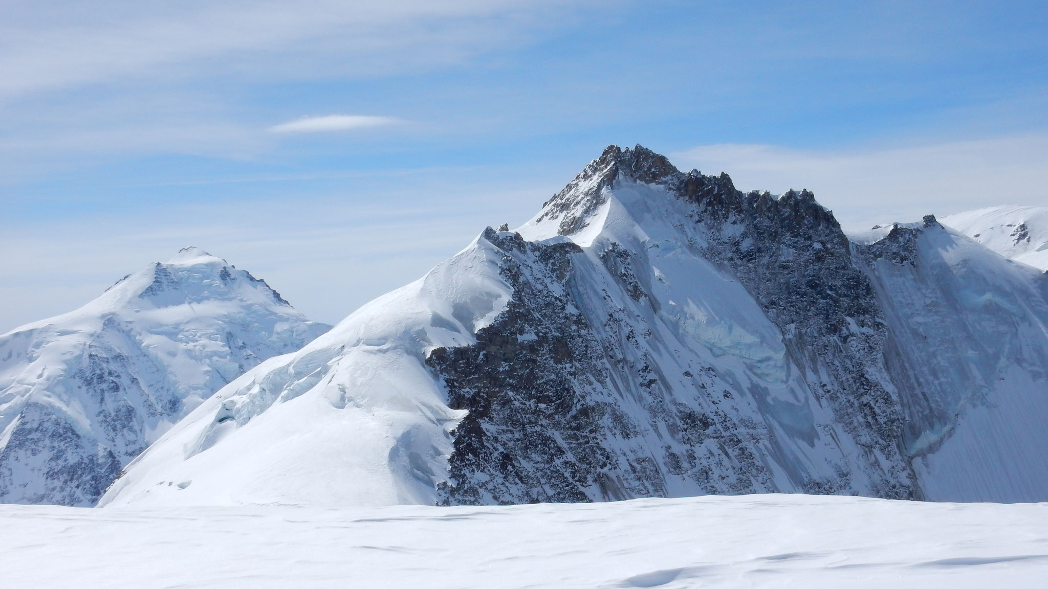 Gletscher- und Aletschhorn
