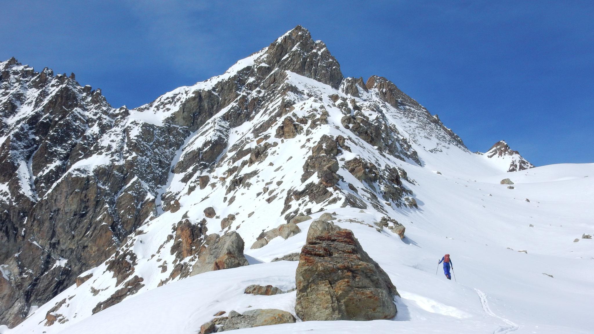 wir machen noch ein Nachmittagstüürli zum Gletscher hoch Pkt. 3'052m