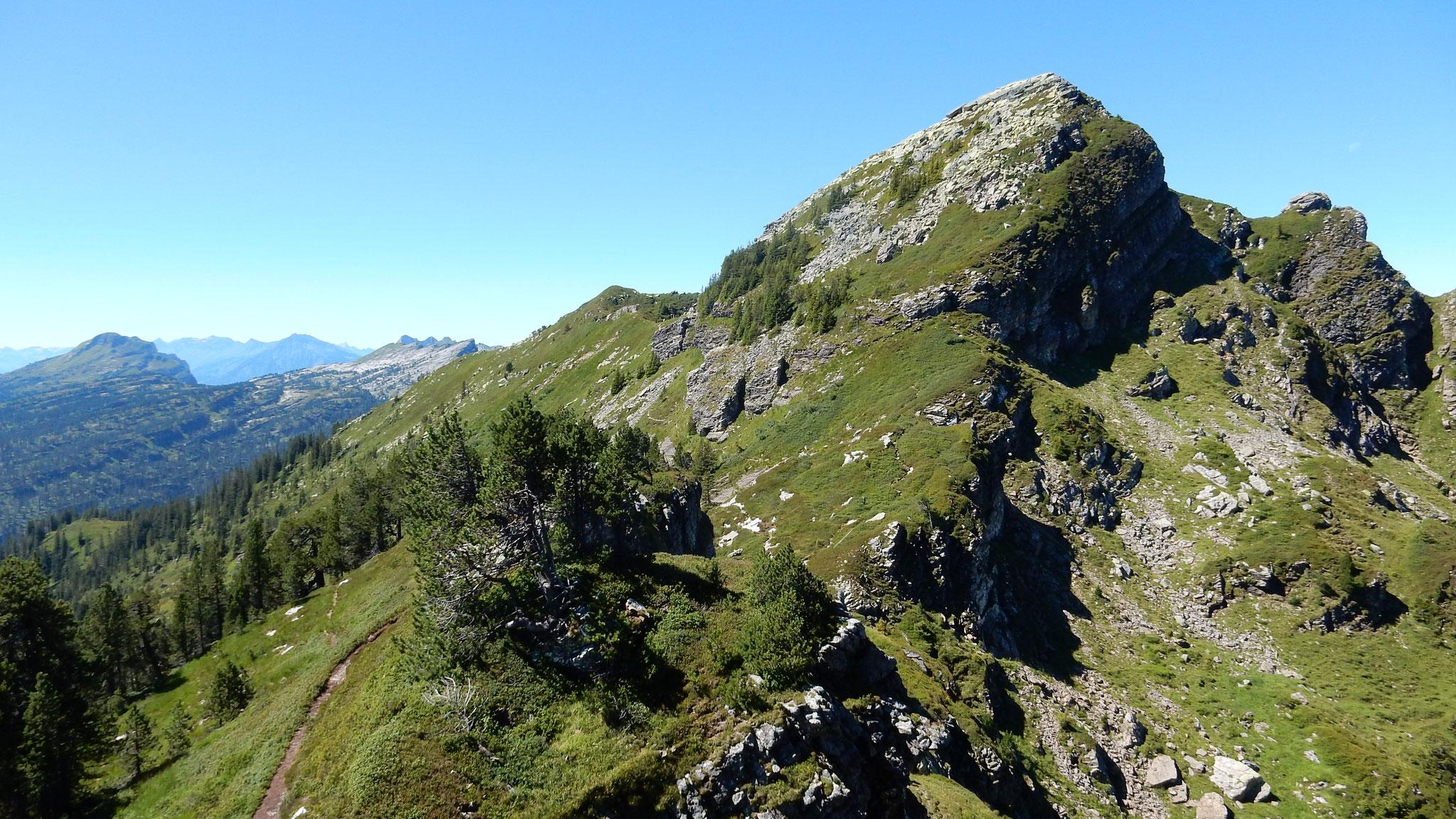Blick zurück zum Trogenhorn