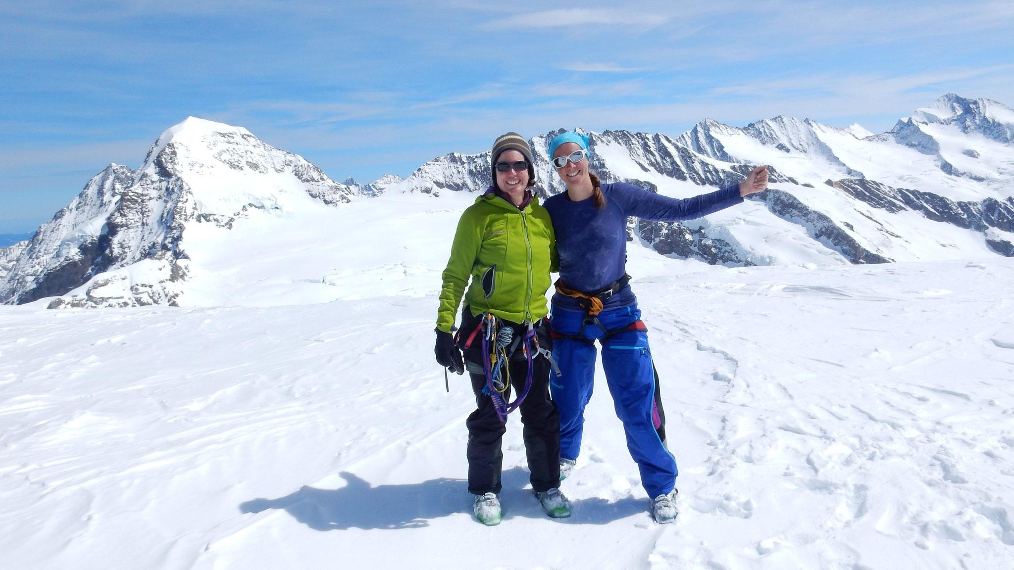 Gipfelfreude auf dem Louwihorn