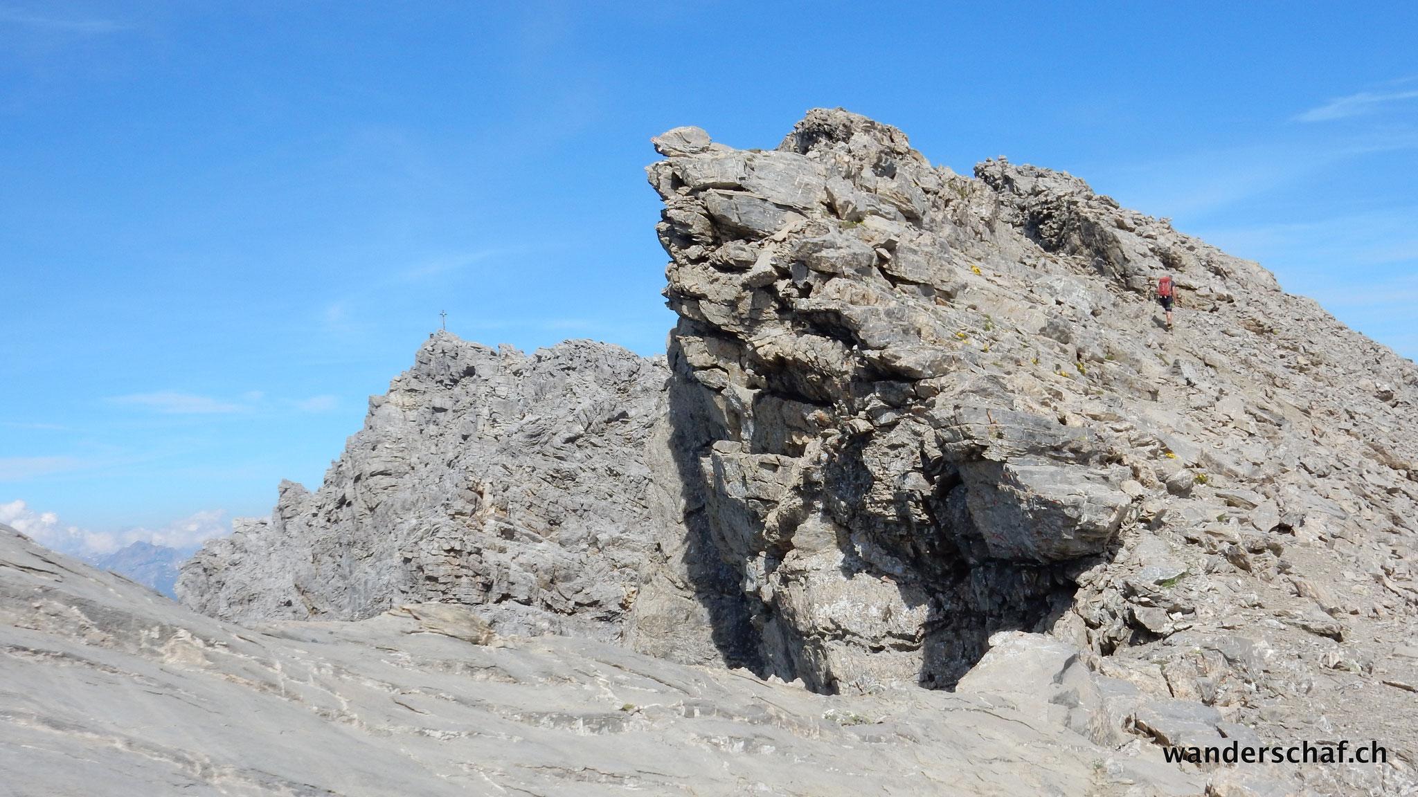Gipfel vom Wildberg in Sicht
